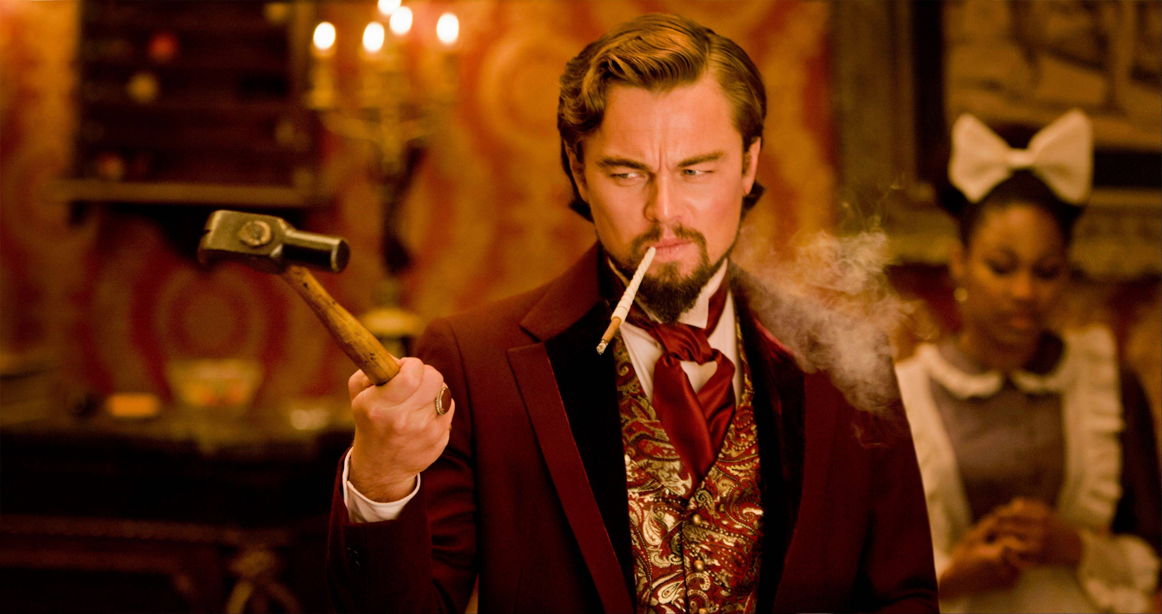 "Leonardo DiCaprio plays Calvin Candle in ""Django Unchained,"" directed by Quentin Tarantino."