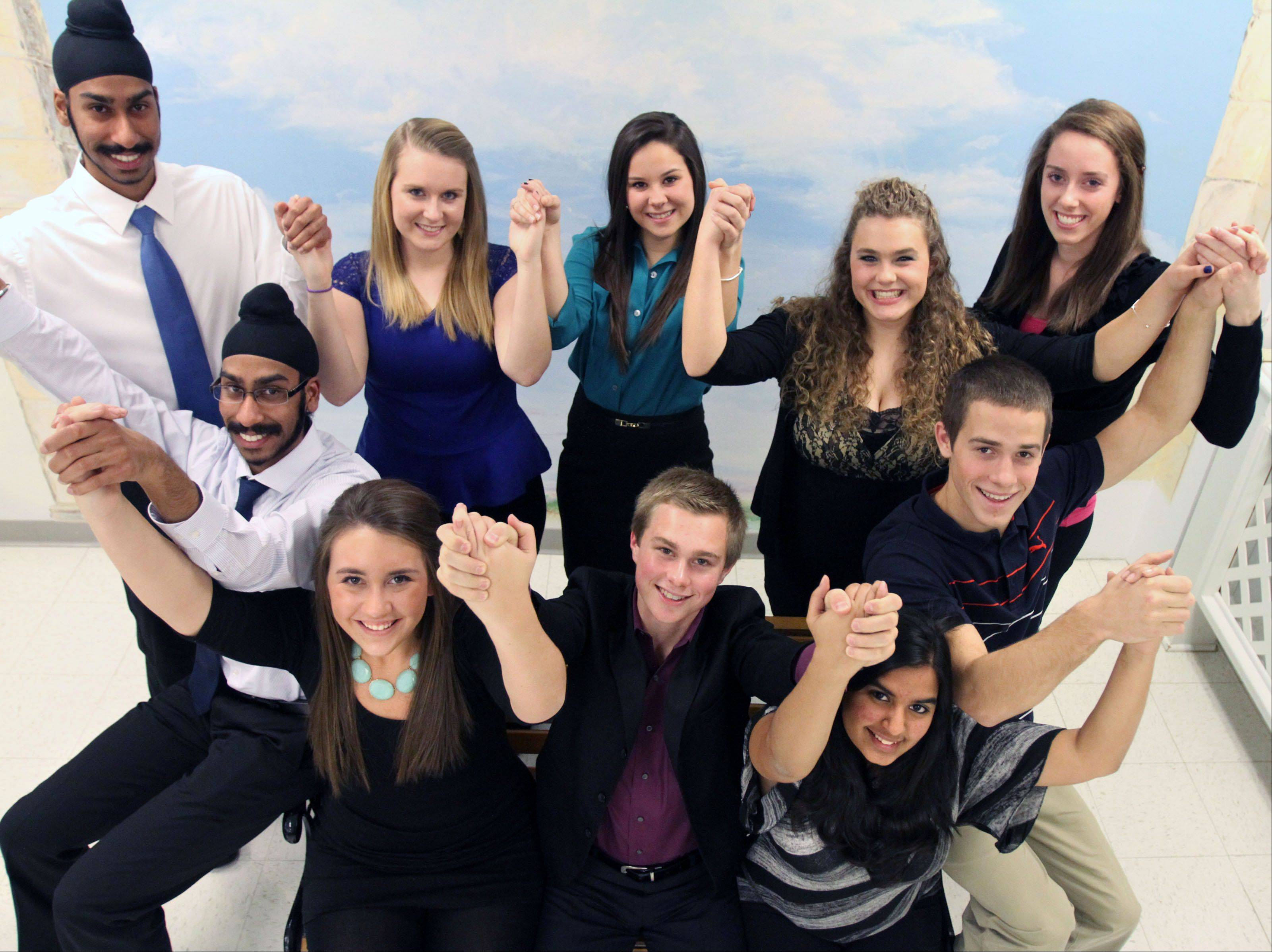 2012-2013 Northwest Suburban Leadership Team