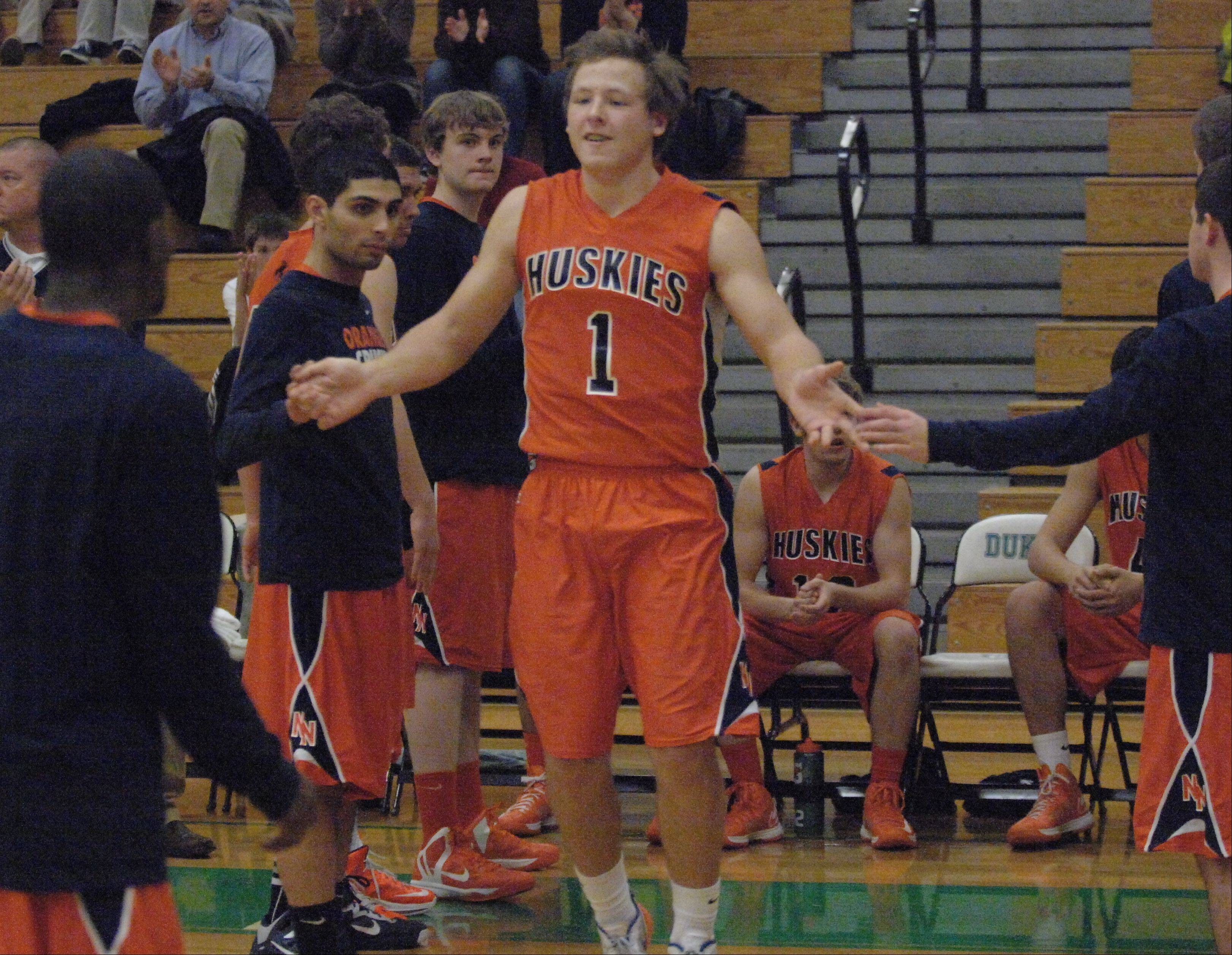 York High School hosted Naperville North Friday night for boys basketball.
