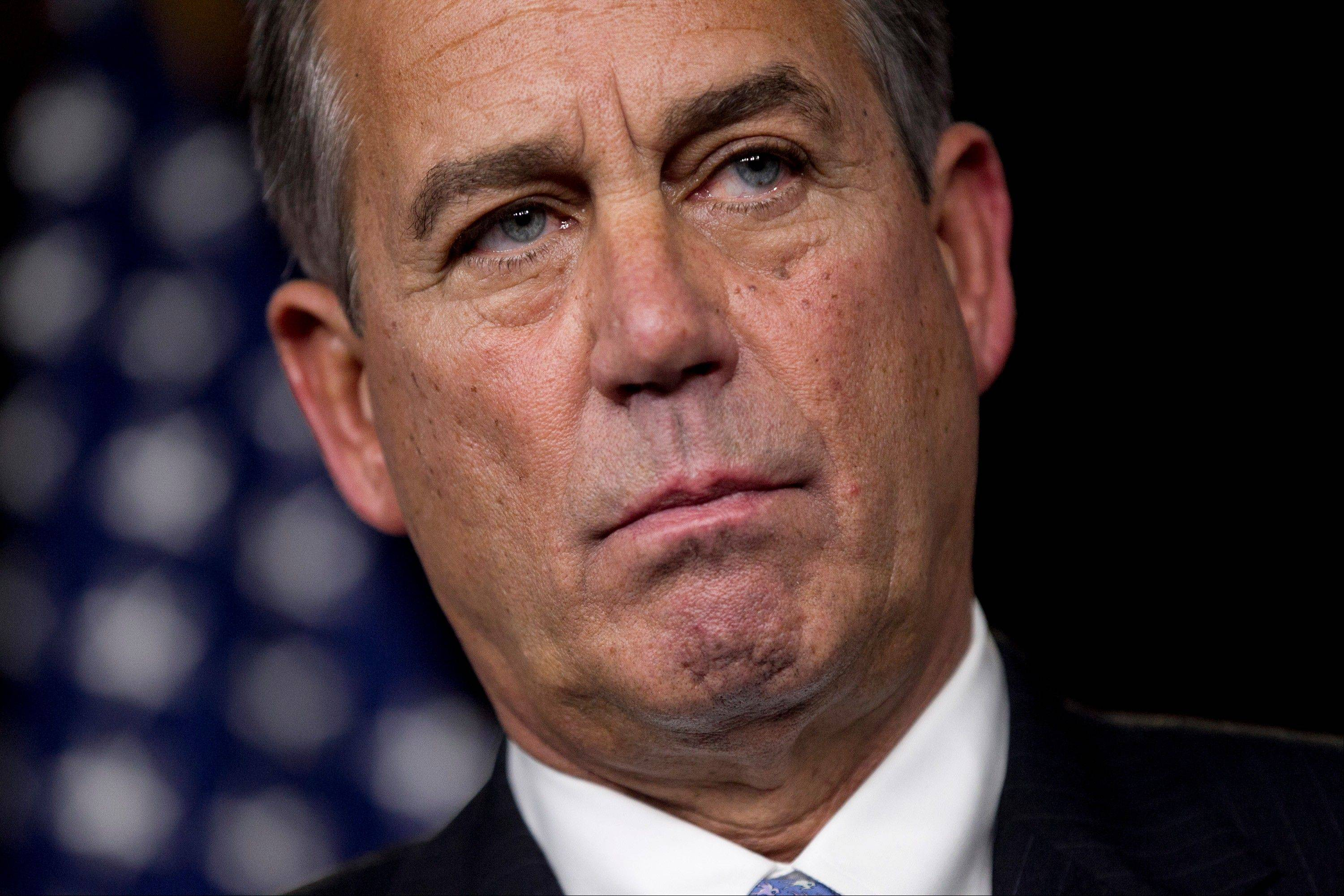 "When it comes to resolving their ""fiscal cliff"" impasse, the dollar gap between President Barack Obama and House Speaker John Boehner is tiny in federal terms. That masks a monumental political ravine the two men must try to bridge, with most of the burden on the now beleaguered Boehner."