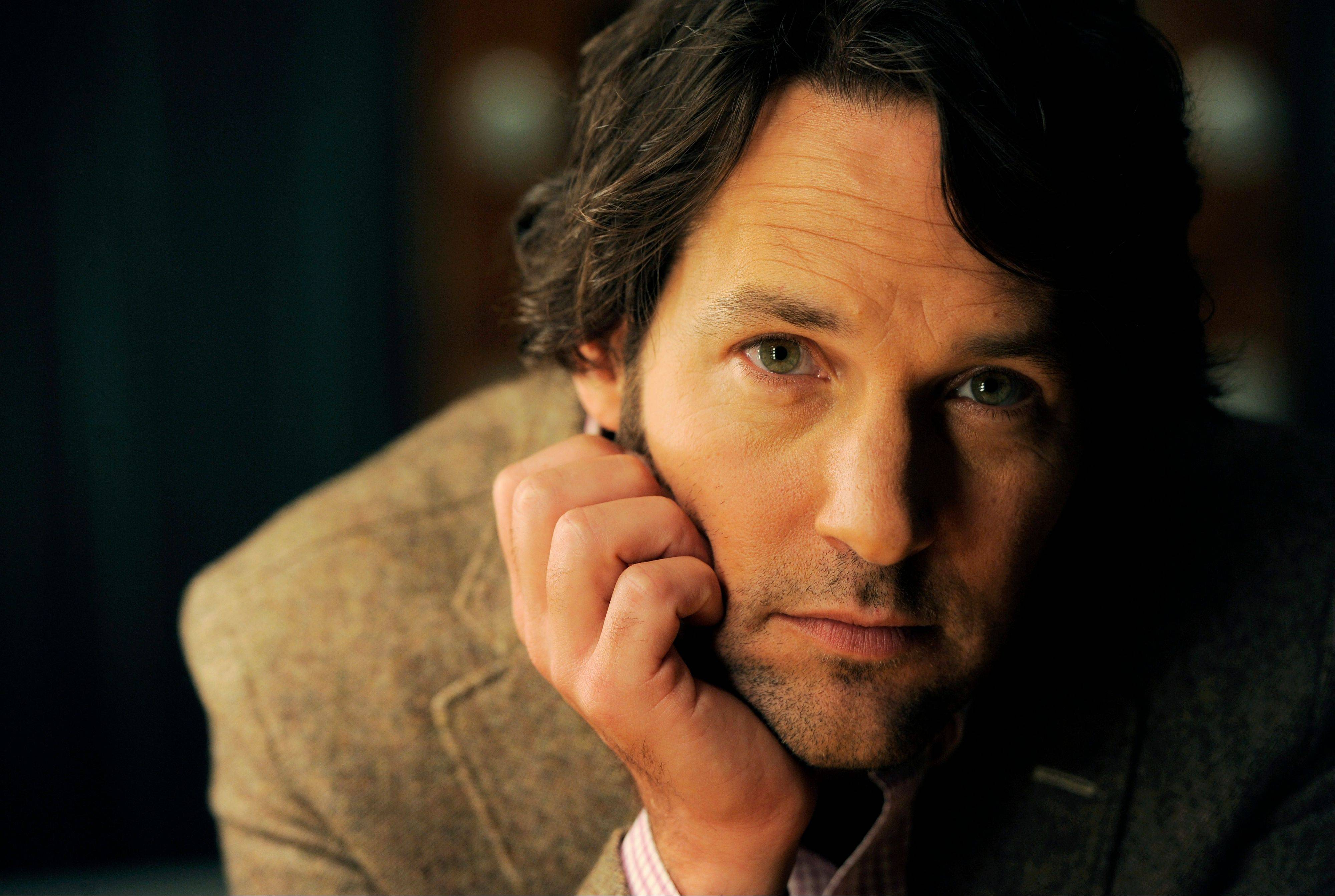 "Paul Rudd's ready for a dose of goofy comedy after taking on his latest dark stage role in ""Grace."""