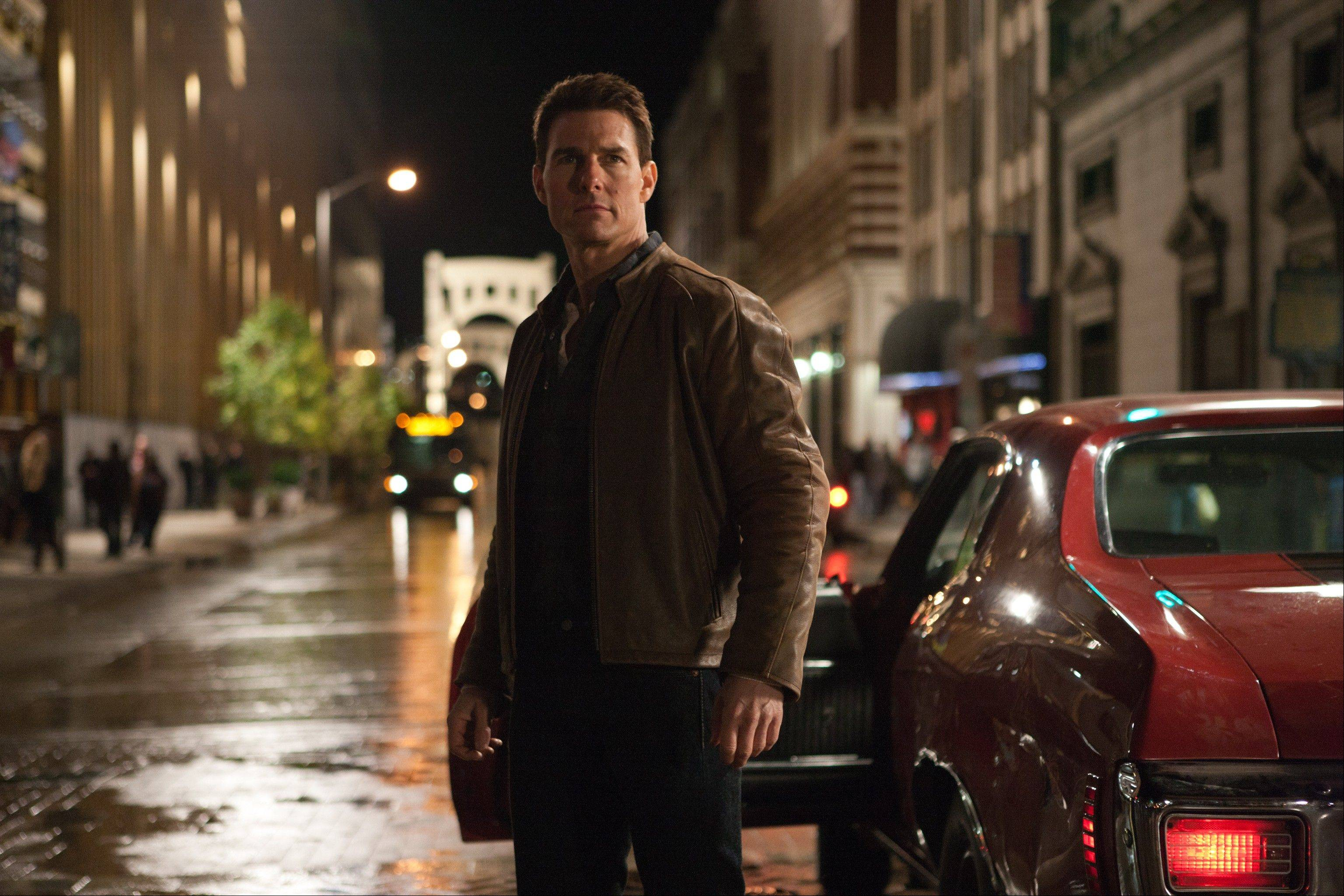 "Tom Cruise in a scene from ""Jack Reacher."""