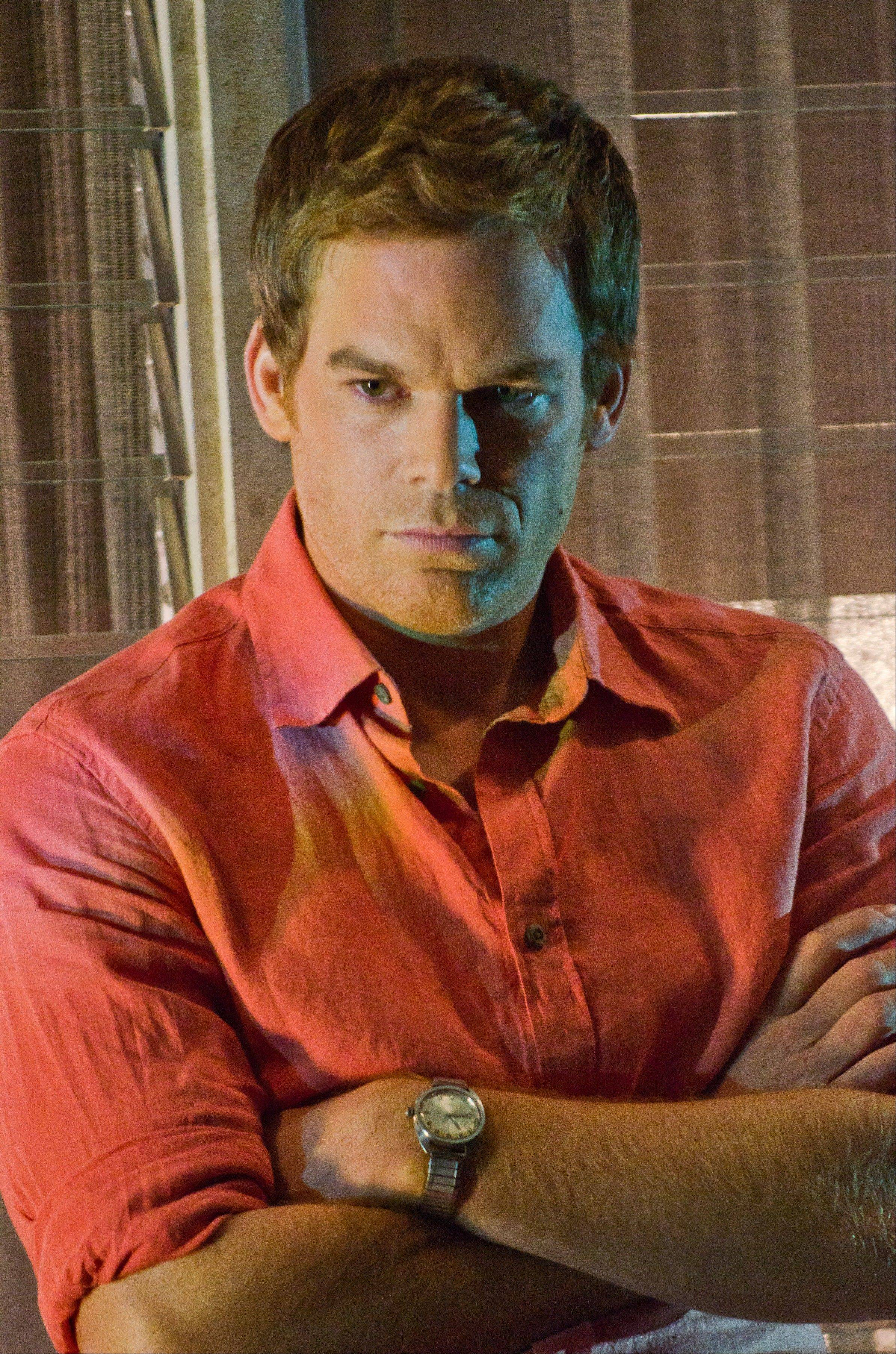 "Michael C. Hall portrays Dexter Morgan in the popular Showtime series ""Dexter."""
