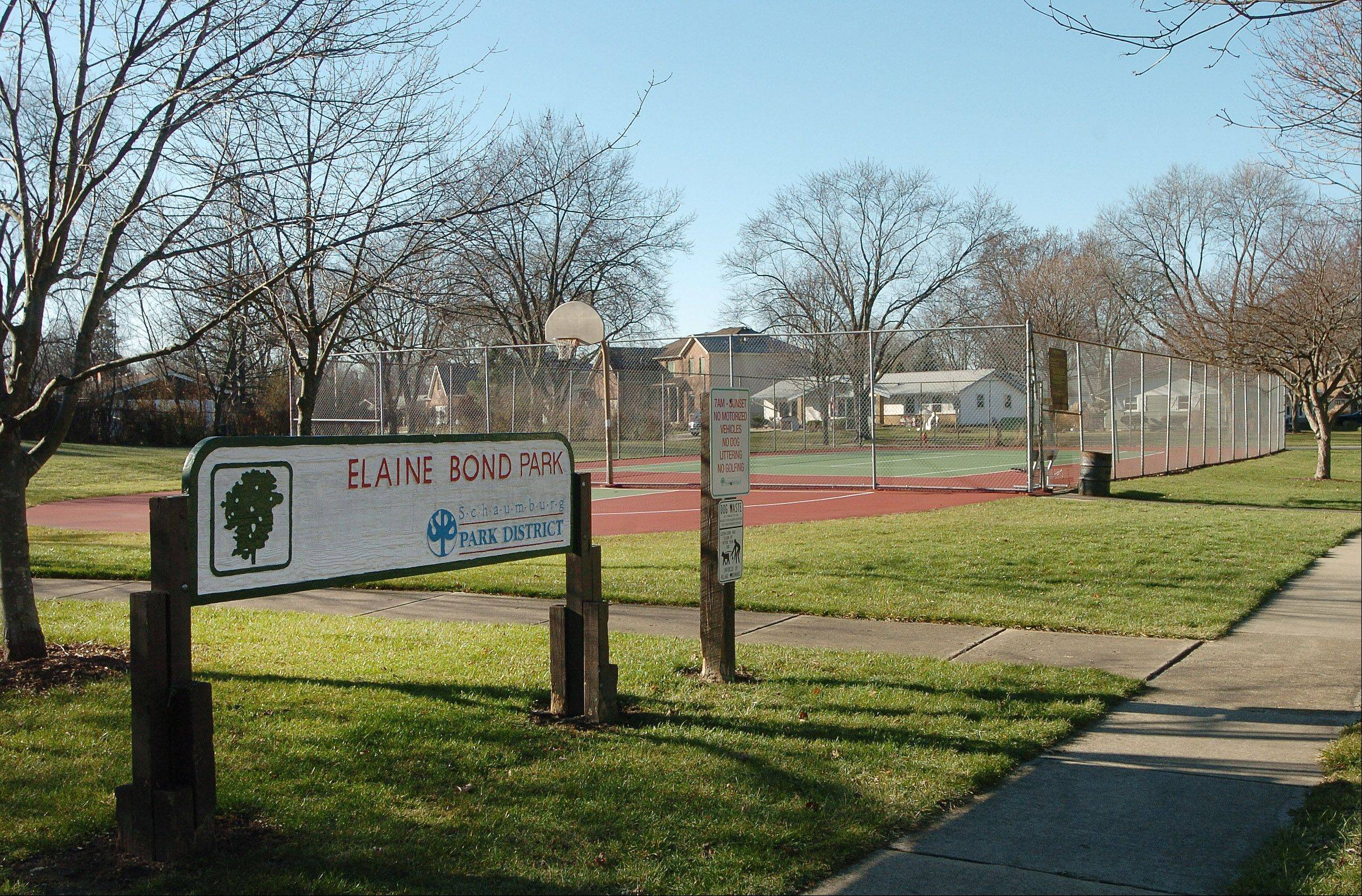 Elaine Bond Park is one of many parks in Schaumburg's Weathersfield neighborhood.