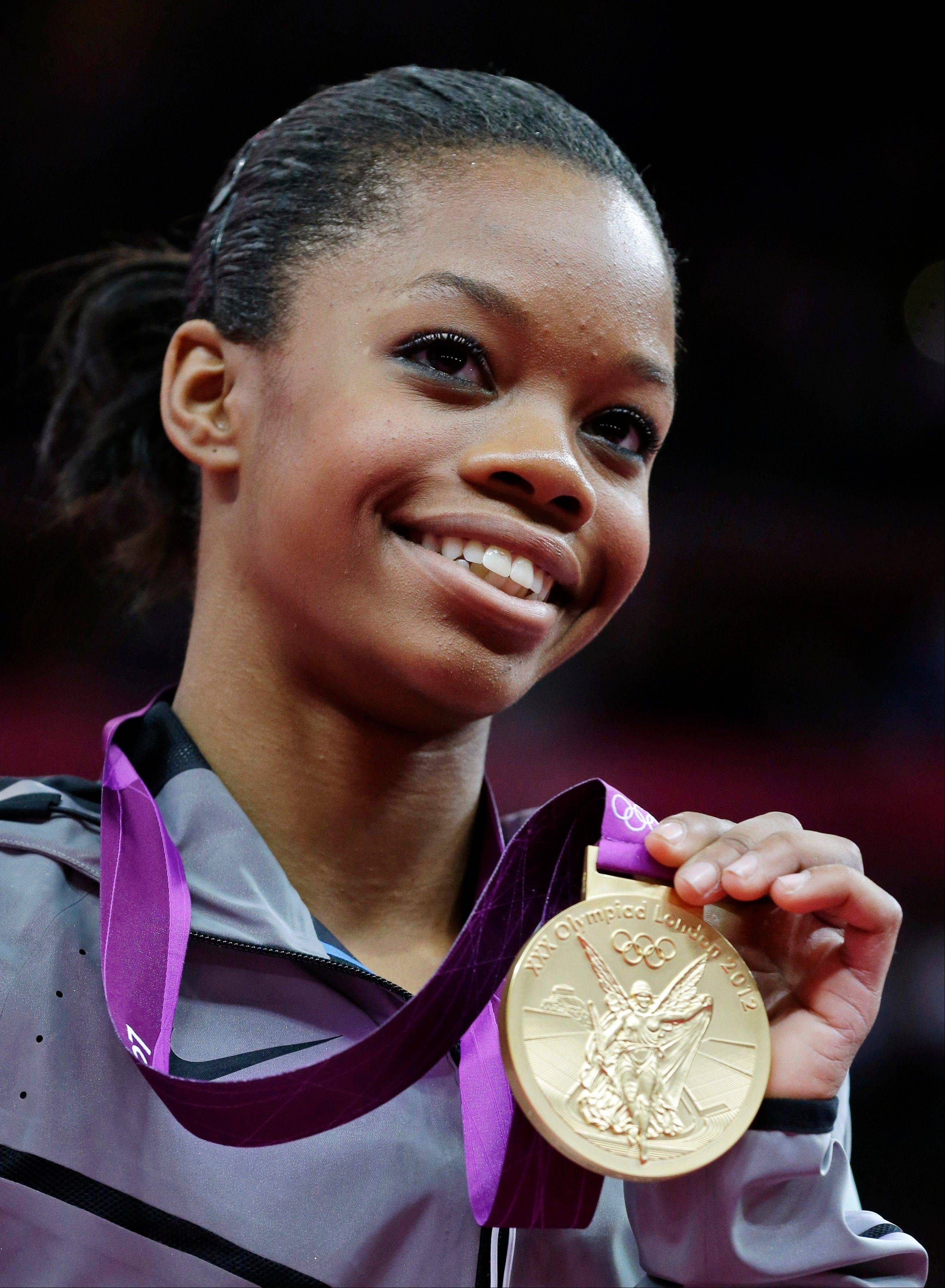 Gabrielle Douglas of the United States is The Associated Pressí 2012 female athlete of the year. She turns 17 on Dec. 31.