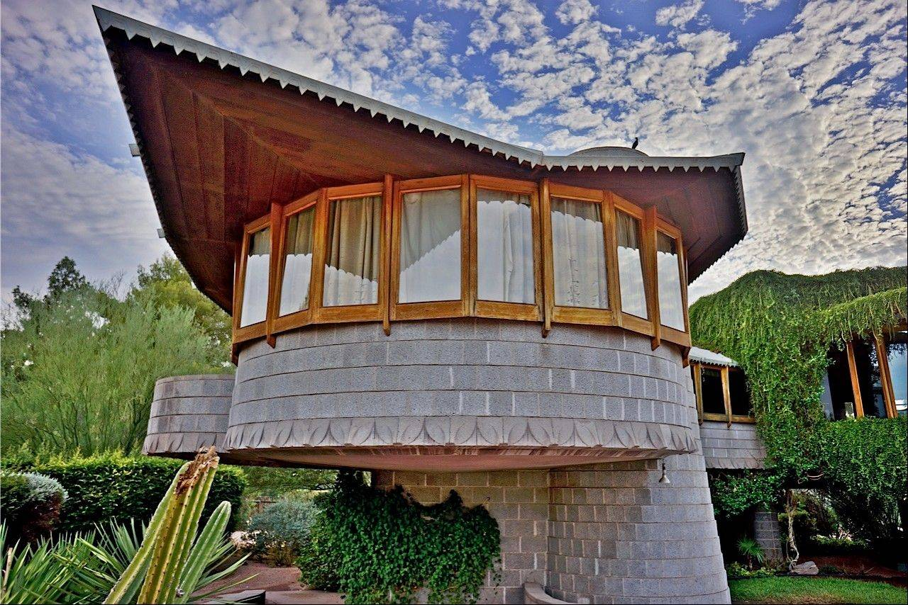 Architect Frank Lloyd Wright built a home for his son in Phoenix, Ariz. The city council is considering granting the house landmark designation to temporarily protect it from being torn down by the developer who currently owns it.