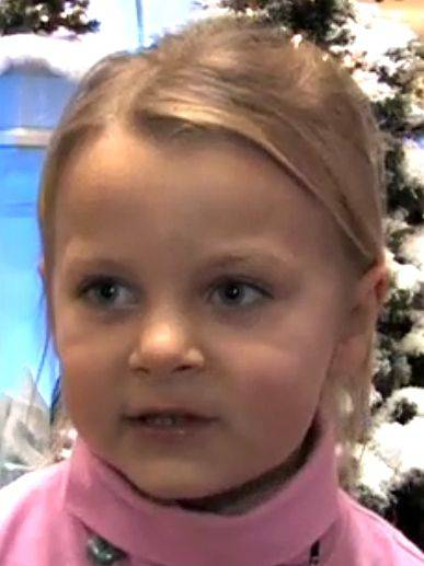 Eliza Buivis, 5, Algonquin � A Christmas video� A Tweety Bird plate� A princess room