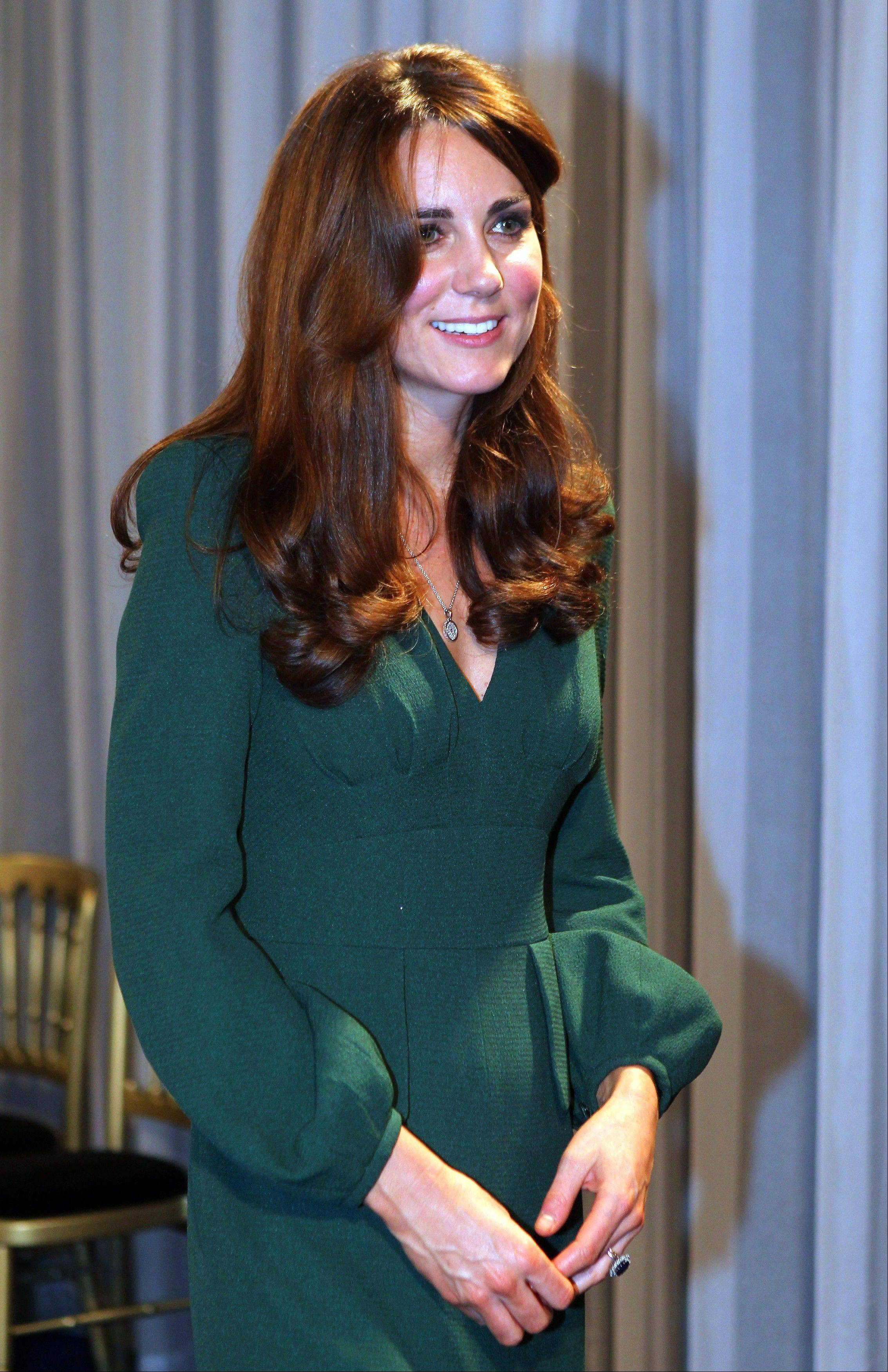 Kate, the Duchess of Cambridge, attended the BBC Sports Personality of the Year Awards 2012 in London last Sunday.