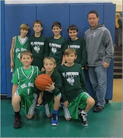 St. Patrick School's fifth grade champs are Nick Dietzen, Matt Furrer, Jayson Gaetano, Jack Mueller, Krystofer Selega, Ryan Williams and Kyle Zupec. The Hornets are coached by Keith Zupec.