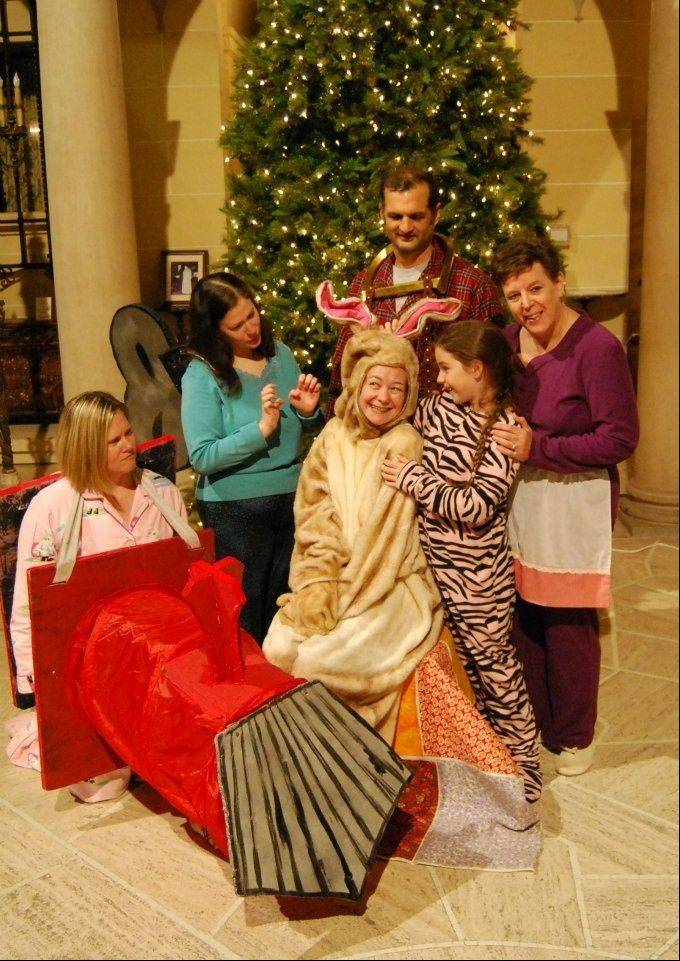 "The Kirk Players present a staged adaptation of ""The Velveteen Rabbit"" in the Great Hall of the Cuneo Mansion and Gardens in Vernon Hills."
