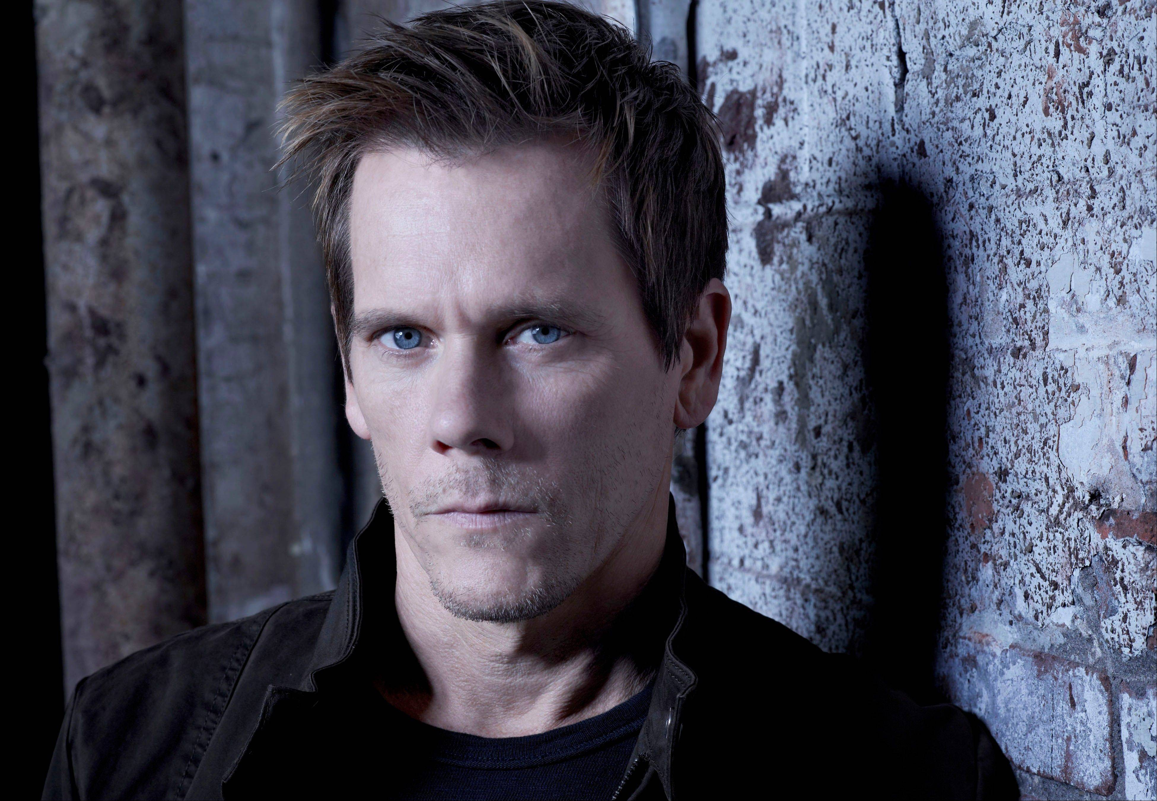 "Kevin Bacon stars as former FBI agent Ryan Hardy in ""The Following"" premiering Jan. 21 on Fox."
