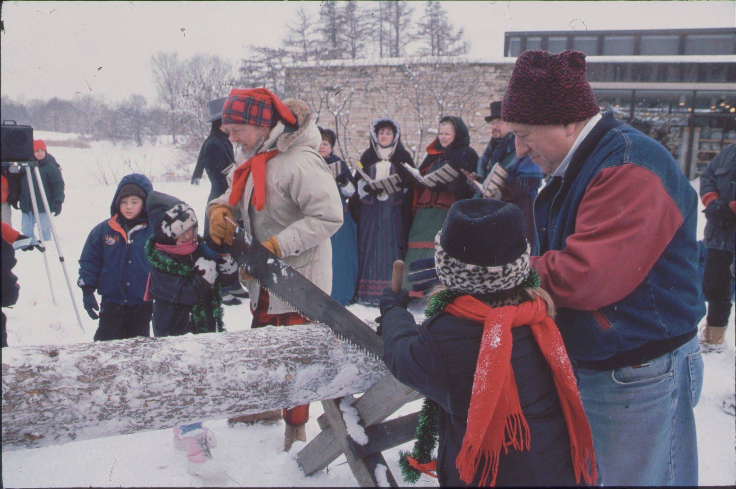 The Morton Arboretum will sponsor its 35th annual hunt for the yule log starting at 2 p.m. Sunday, Dec. 30, at the museum in Lisle.
