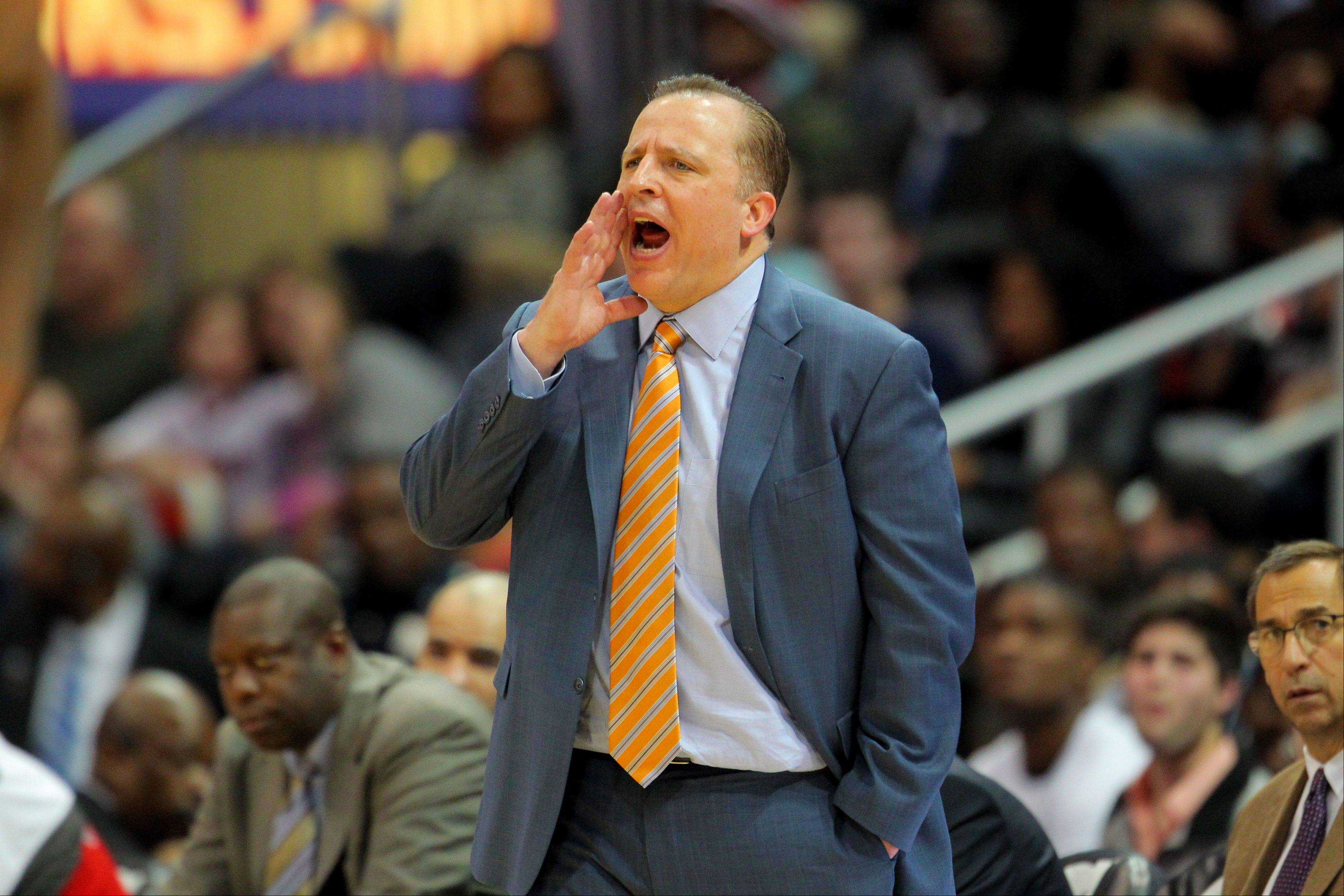 Here's hoping for fans that Tom Thibodeau is just starting a long, successful run as coach of the Bulls.