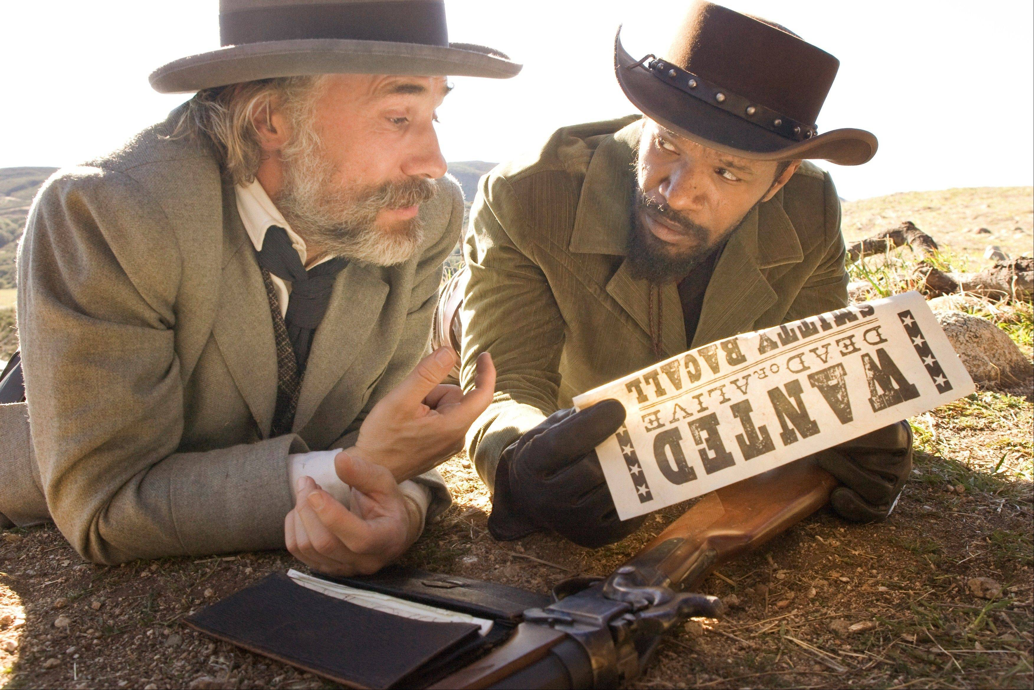 "Dr. Schultz (Christoph Waltz) takes on a new bounty hunter partner, an escaped slave named ""Django"" (Jamie Foxx)."