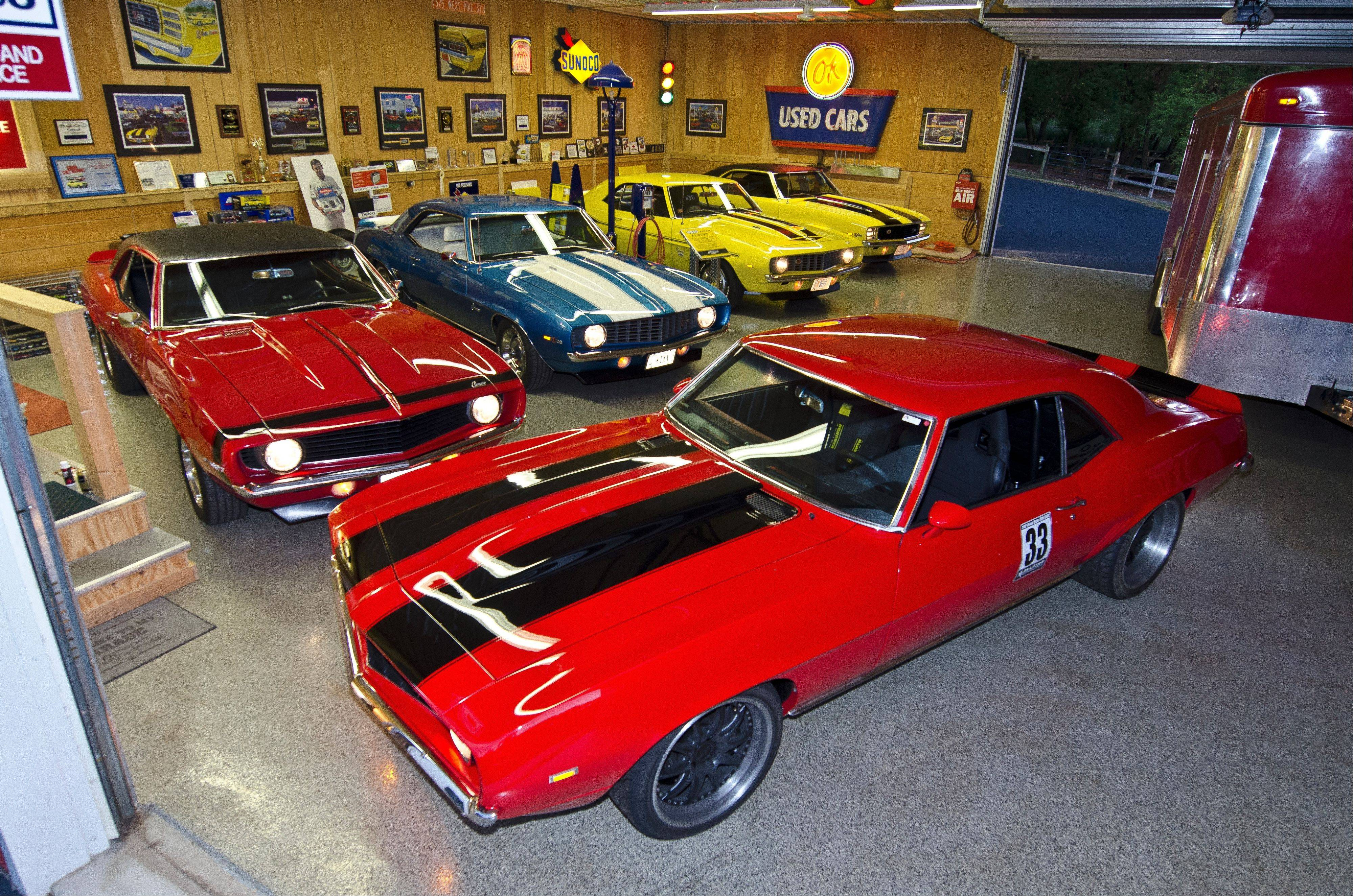 The 1969 Camaro collection of Rich Gregory, Barrington.