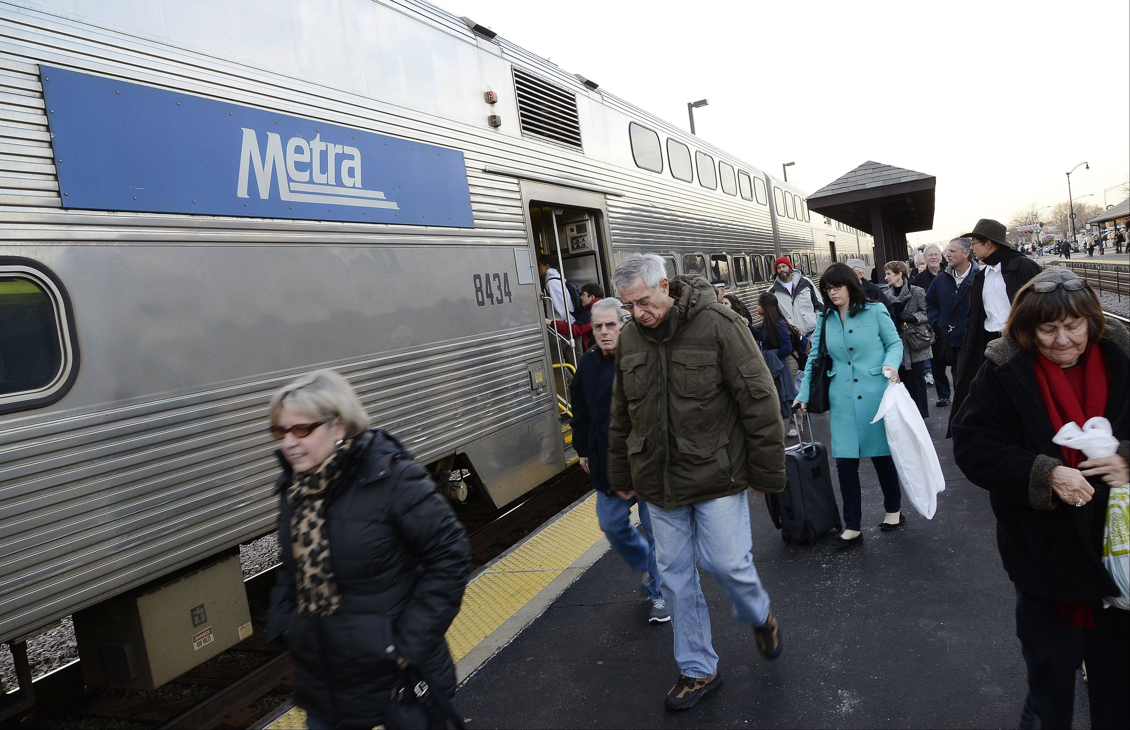 Metra commuters with 10-ride passes will pay more in February on the heels of another hike in February 2012.
