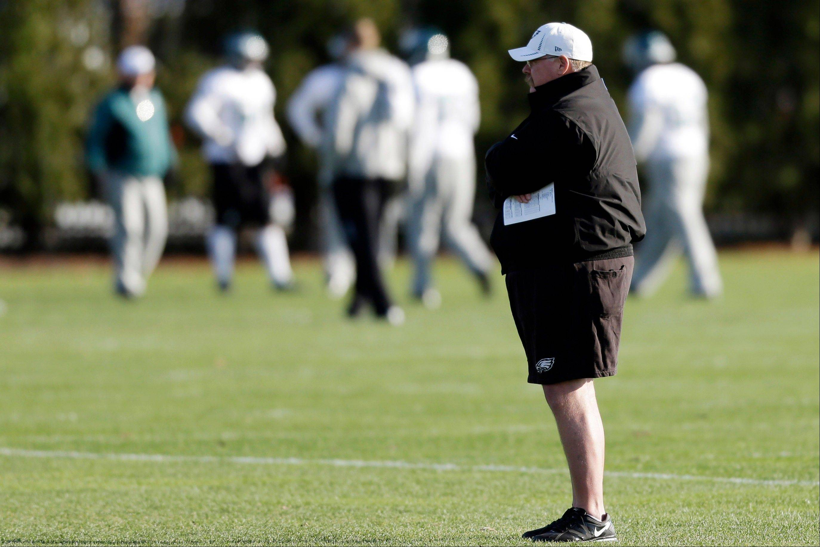It has been a very tough year for Philadelphia Eagles coach Andy Reid and others in the sports world.