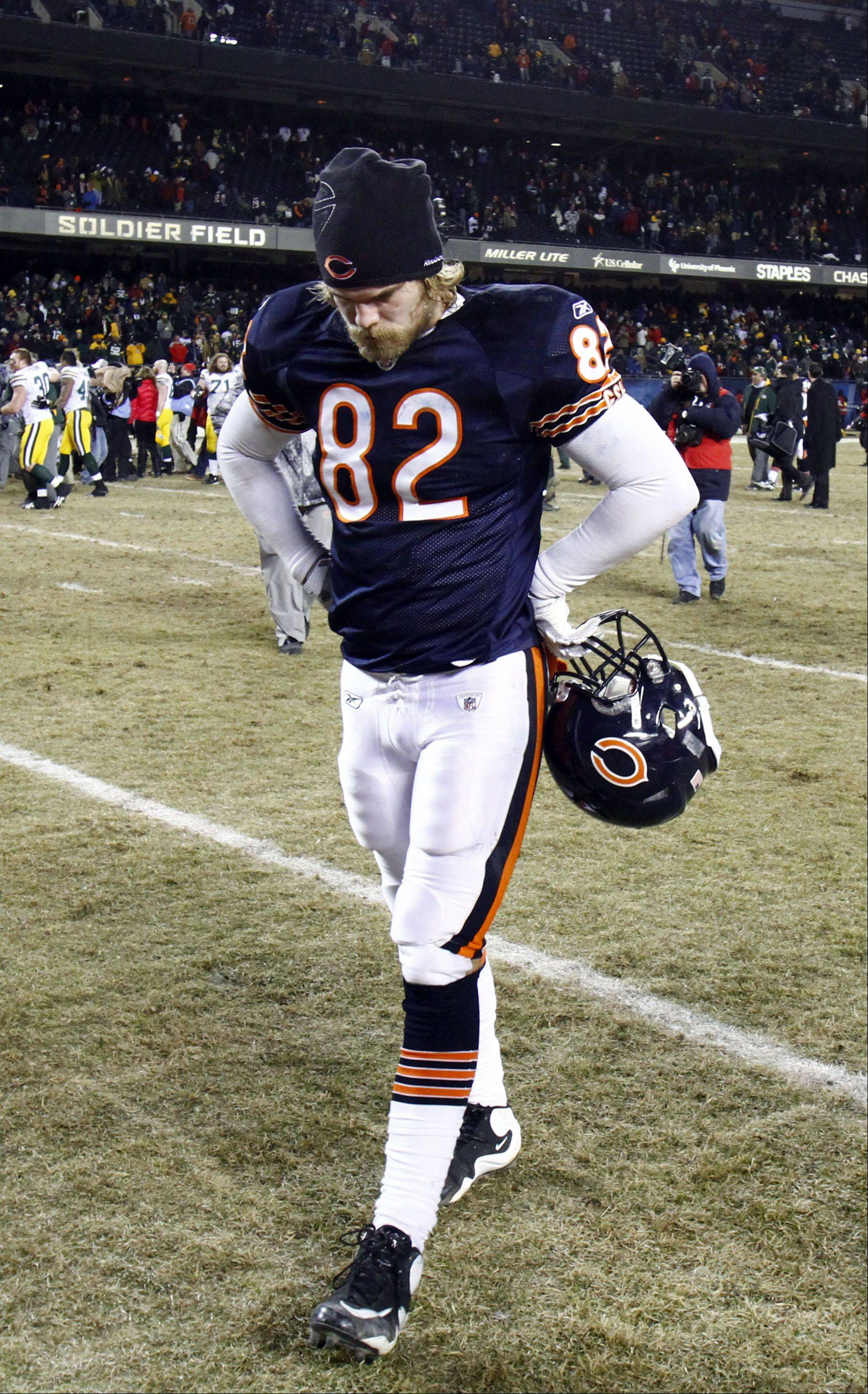 Former Bears tight end Greg Olsen has plenty to be thankful for this Christmas season.