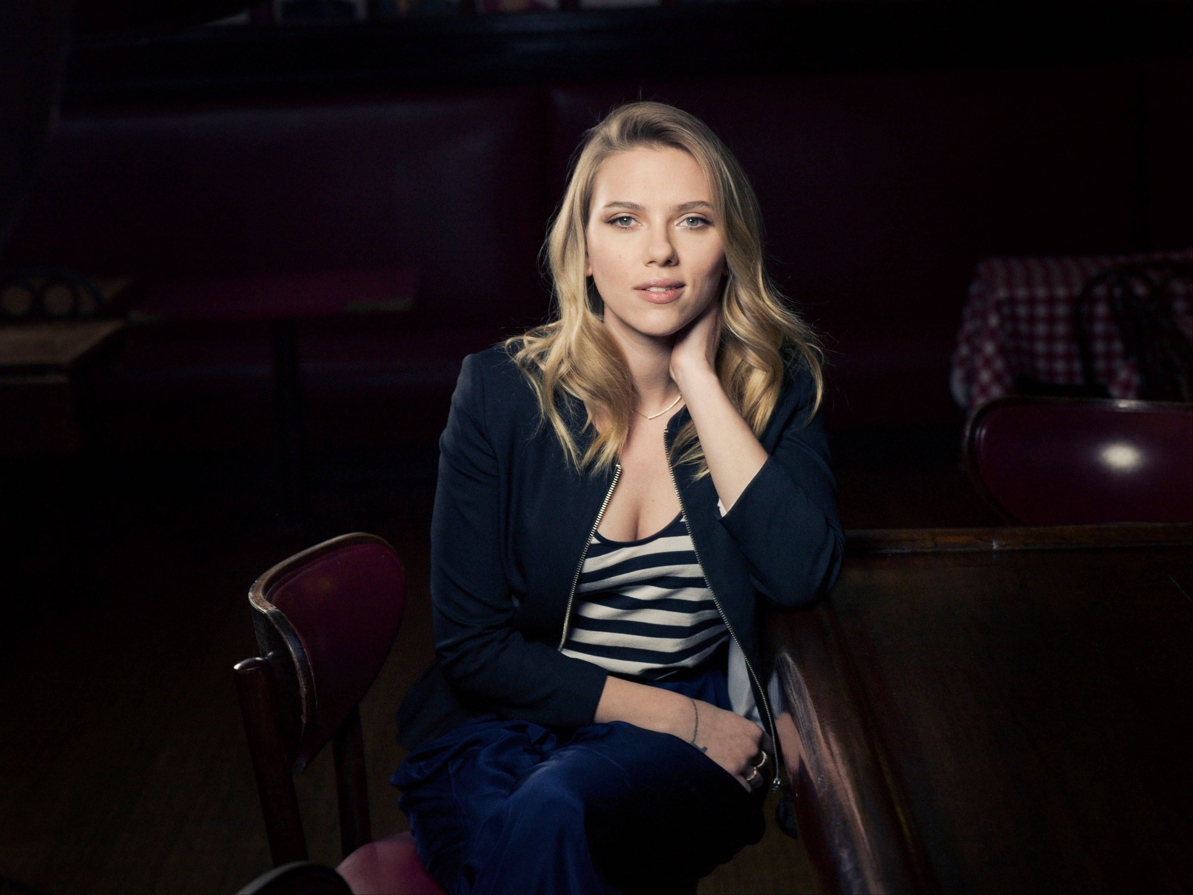 Scarlett Johansson, currently starring in �Cat on a Hot Tin Roof� on Broadway, is determined to be a more naturalistic Maggie the Cat in a revival of Tennessee Williams� �Cat on a Hot Tin Roof� that opens Jan. 17, 2013.
