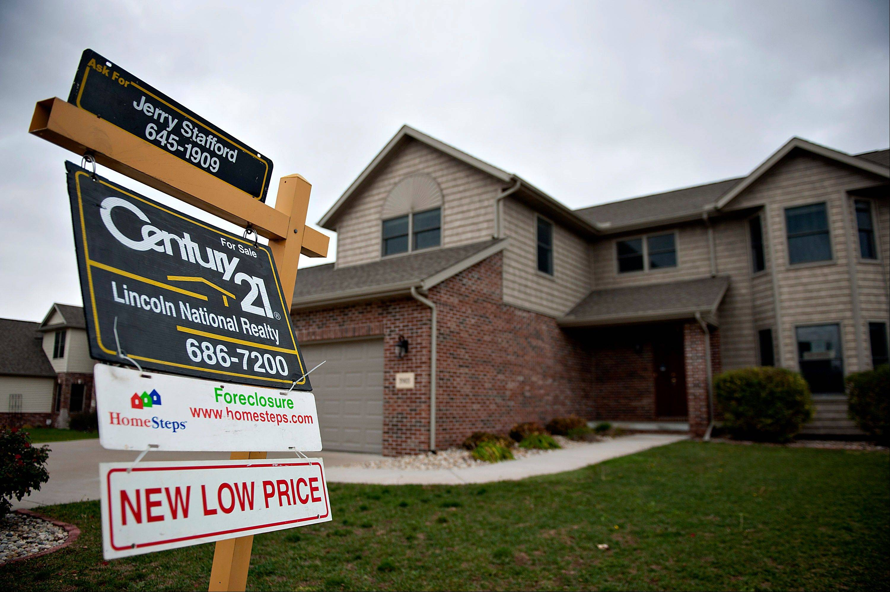 U.S. home prices rise in October from previous year