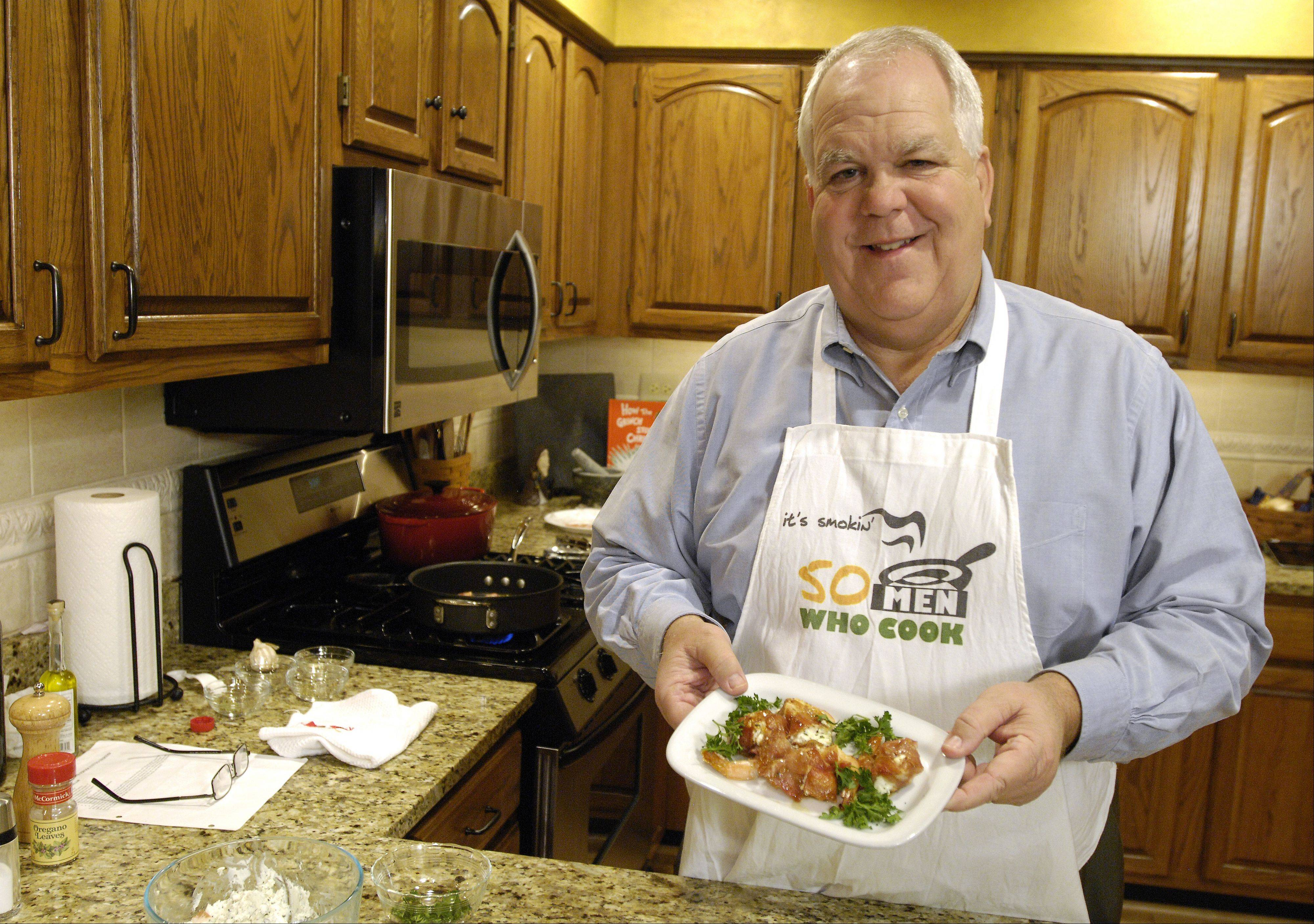 Cook of the week: Bloomingdale loves to share love of cooking with friends, family his students
