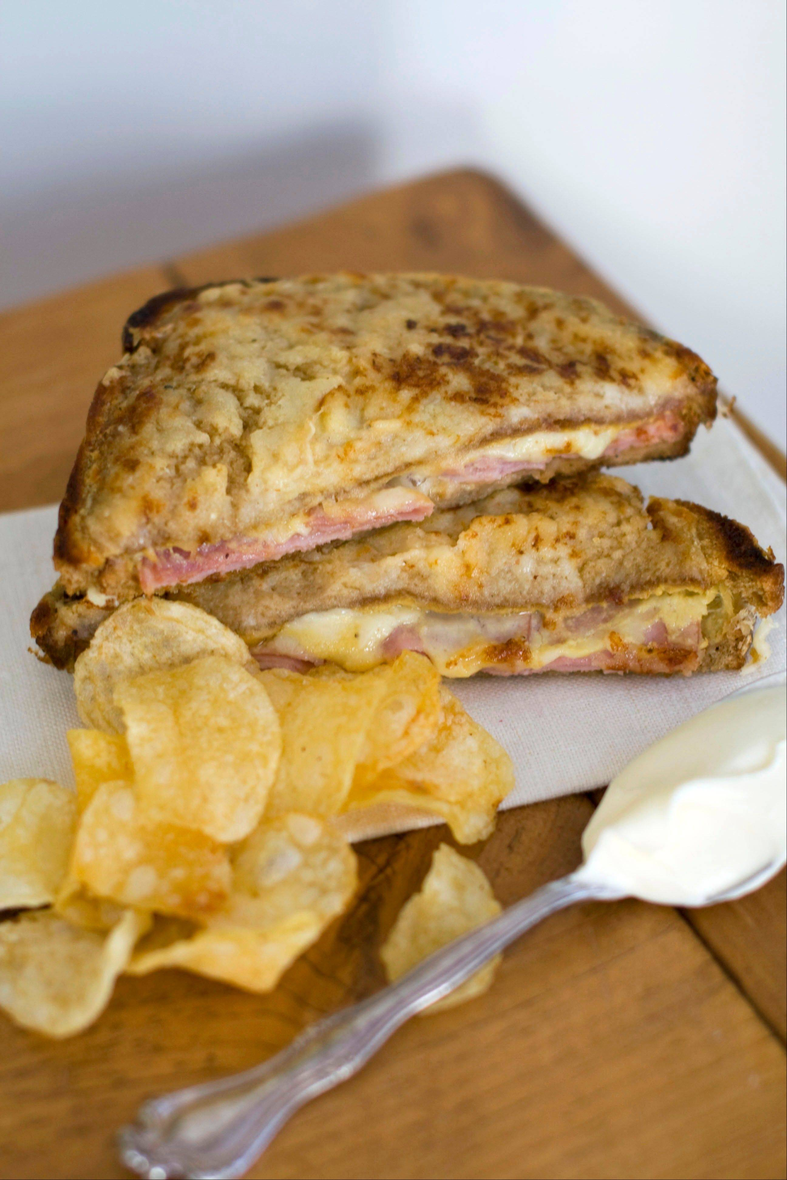 In this image taken on Jan. 9, 2012, Croque Monsieur is shown in Concord, N.H.