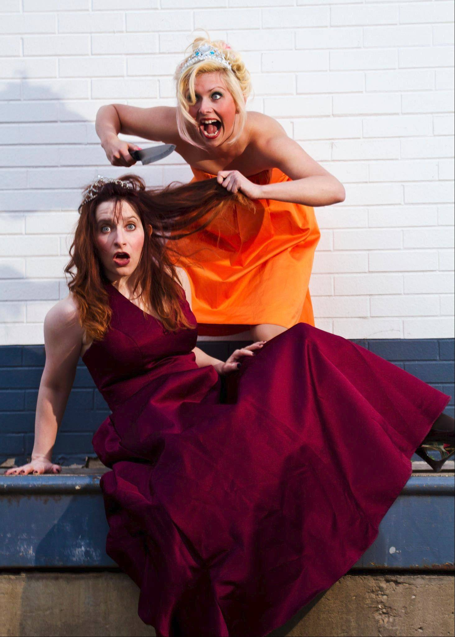Katie Dufresne and Stacey Smith make up the sketch comedy duo Snooty Pageant, which performs at the 12th Annual Sketch Comedy Festival in Chicago.