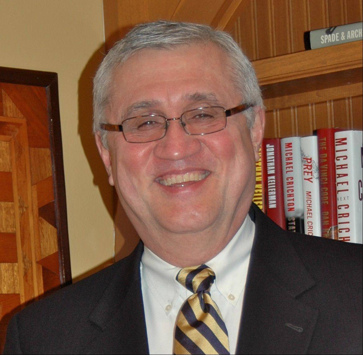 St. Charles Alderman Raymond Rogina, candidate for mayor