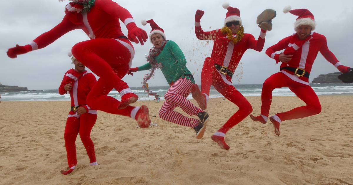 Images: Christmas Day around the world