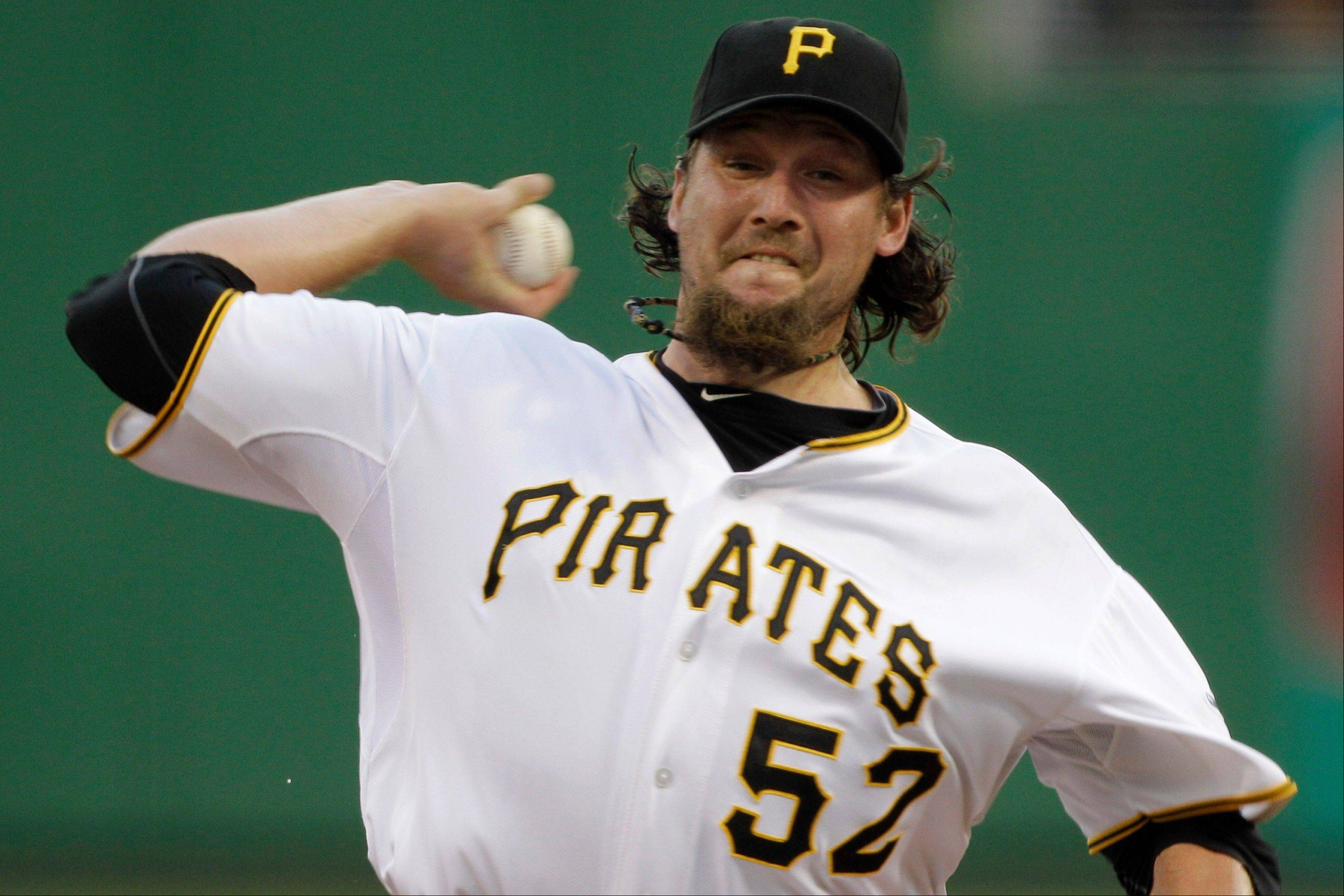 Pittsburgh Pirates closer Joel Hanrahan was traded to Boston in a six-player deal that was announced Wednesday.