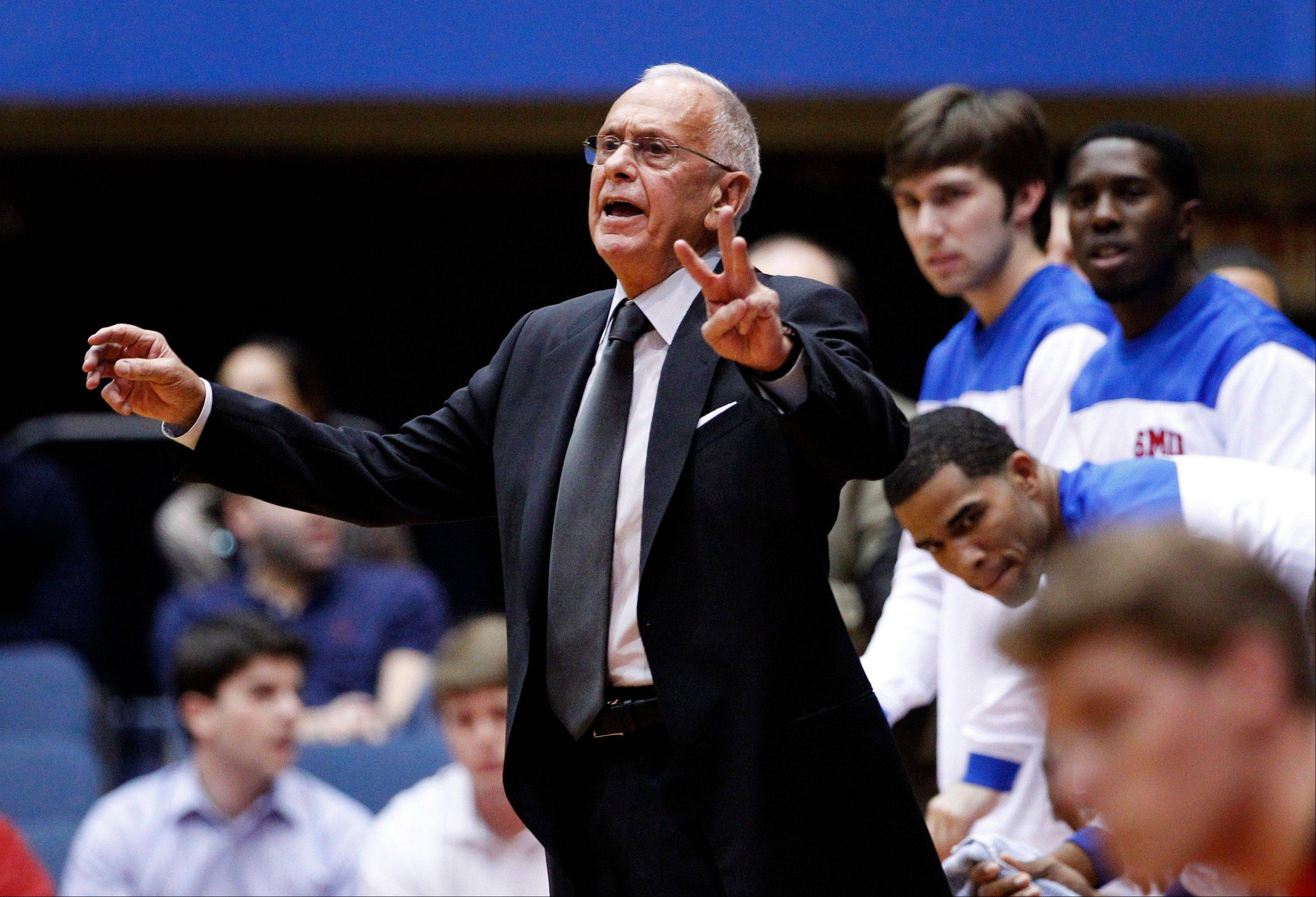"At age 72, SMU head coach Larry Brown shows no signs of slowing down when it comes to coaching basketball. ""The only reason I took a job is because I love to coach and teach, and this school afforded me this opportunity,"" he said."