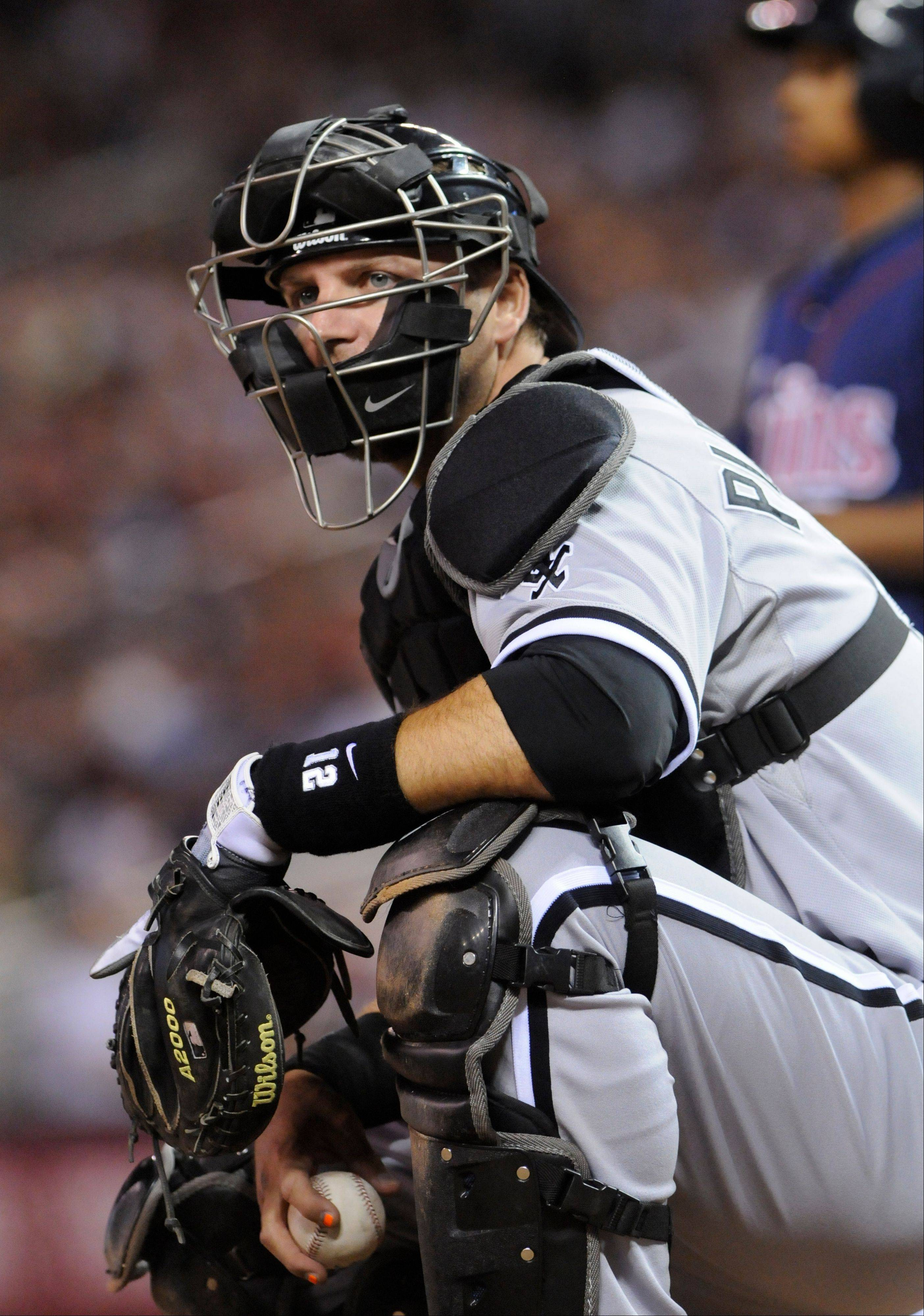 Former White Sox catcher A.J. Pierzynski will have a base salary of $7.5 million with the Texas Rangers next season. In addition to catching, he'll also share time as the designated hitter for the Rangers.
