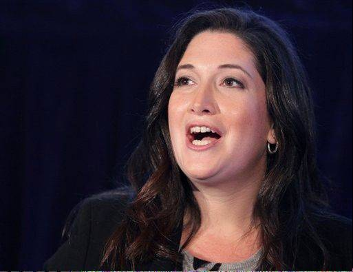 In this Oct. 4, 2011 photo, Randi Zuckerberg, former marketing director of Facebook and founder of RtoZ Media, speaks at the Executive Marketing Summit in New York. A picture Zuckerberg posted on her personal Facebook profile was seen by a marketing director, who then posted the picture to Twitter and her more than 40,000 followers.