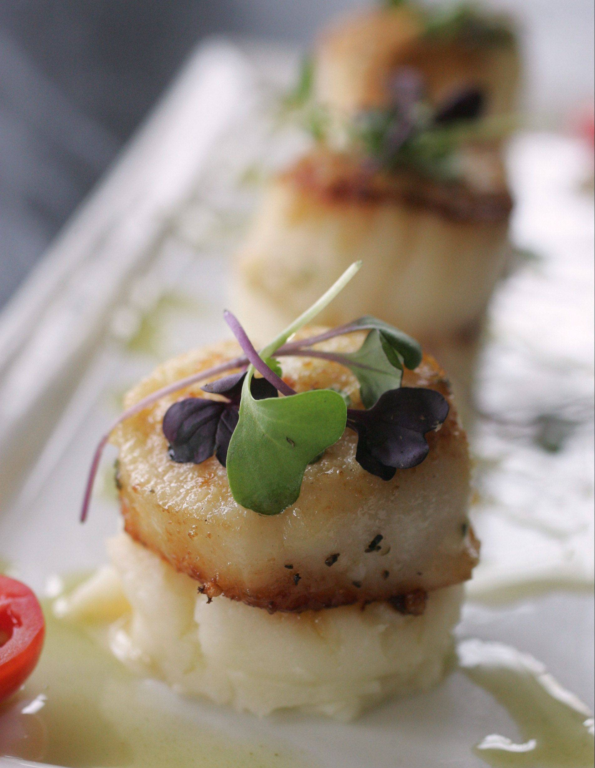 The fresh-caught scallops at Middleton's On Main prove this new Wauconda eatery serves up more than your average bar food.