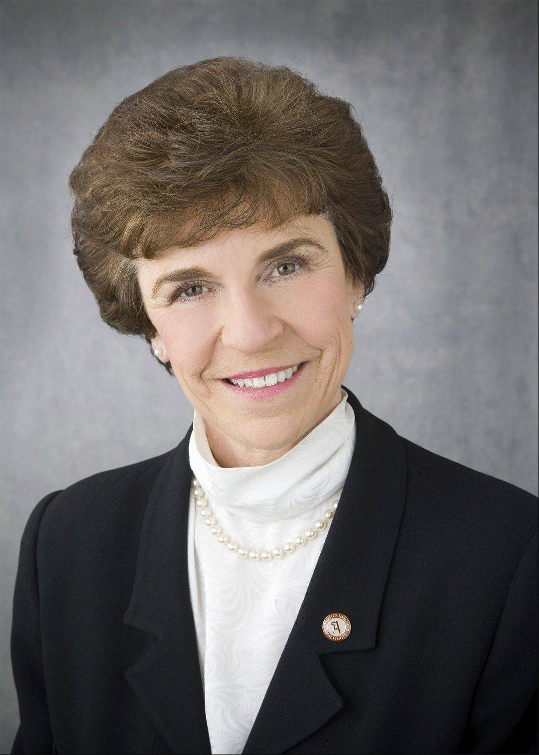 Arlington Heights Village President Arlene Mulder