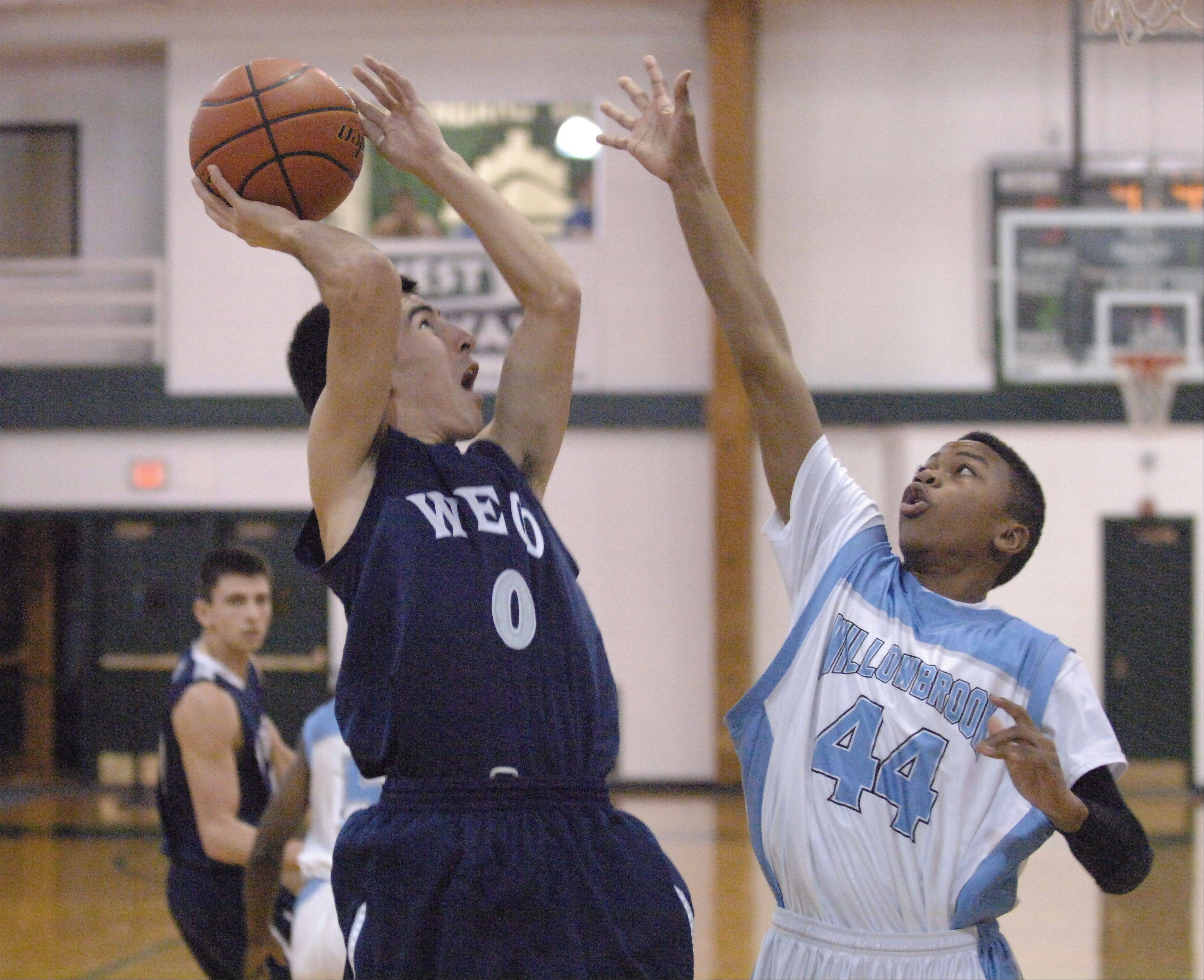 Images from the West Chicago vs. Willowbrook boys basketball game at the Glenbard West Holiday Classic on Thursday, December 27, 2012.