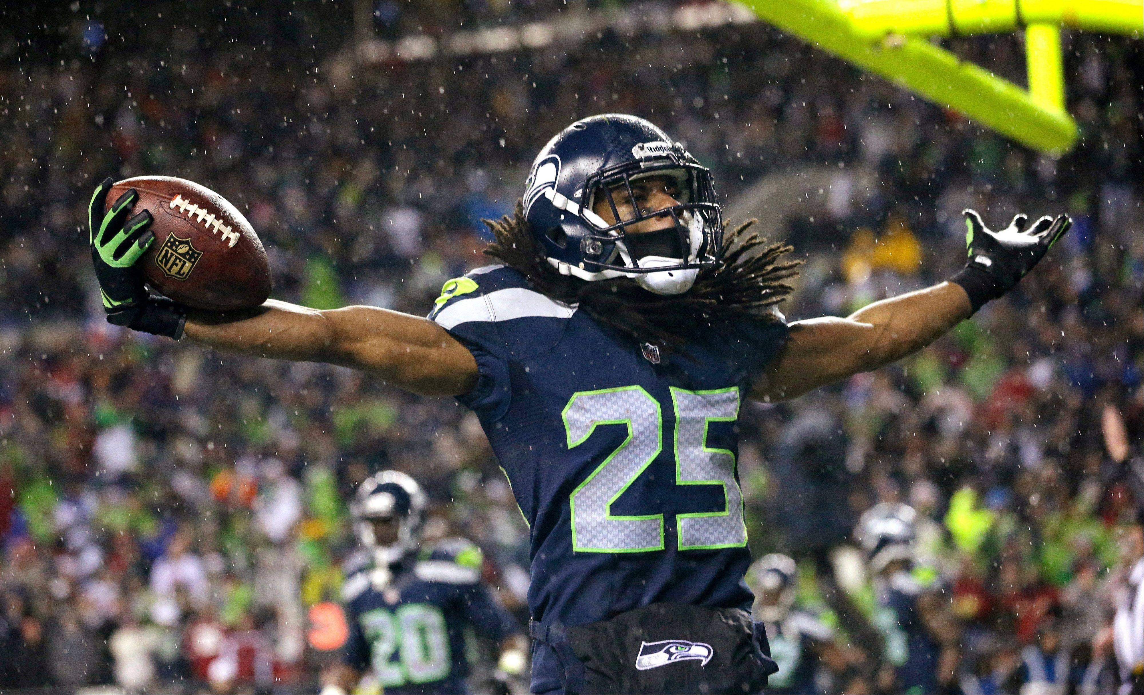 Seattle Seahawks' Richard Sherman is eligible for the NFL playoffs after winning an appeal of a four-game suspension the league gave him earlier this season.