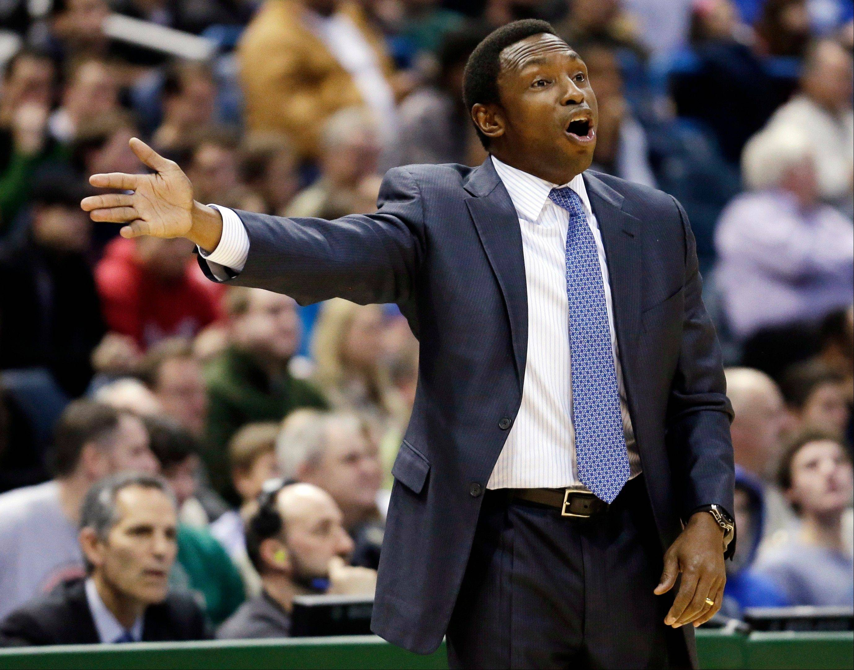 Brooklyn Nets head coach Avery Johnson was fired Thursday after losing 10 of their last 13 games.