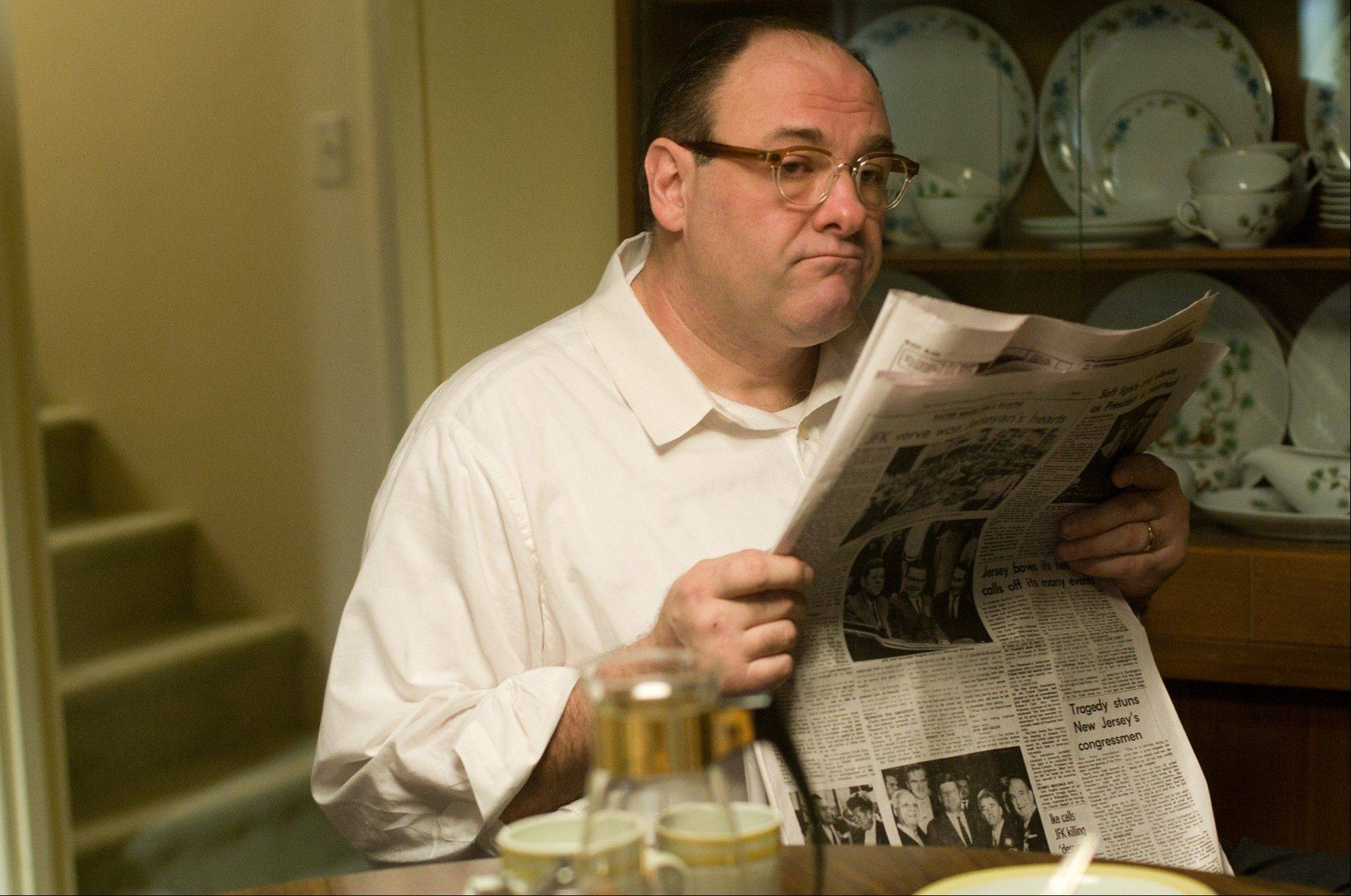 "James Gandolfini plays Pat in ""Not Fade Away."" In the five years since ""The Sopranos"" ended, Gandolfini has eschewed the spotlight, instead disappearing into character actor performances such as this one."