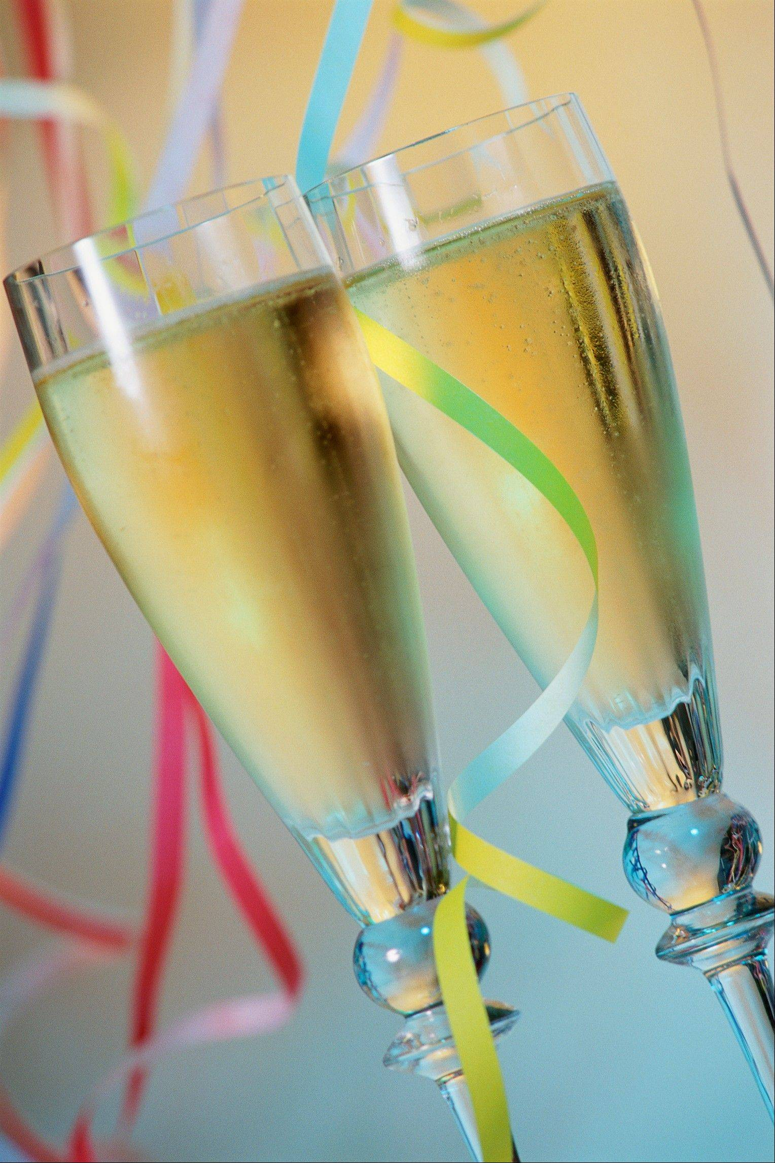 Say so long to 2012 with a champagne toast at local restaurants and bars.