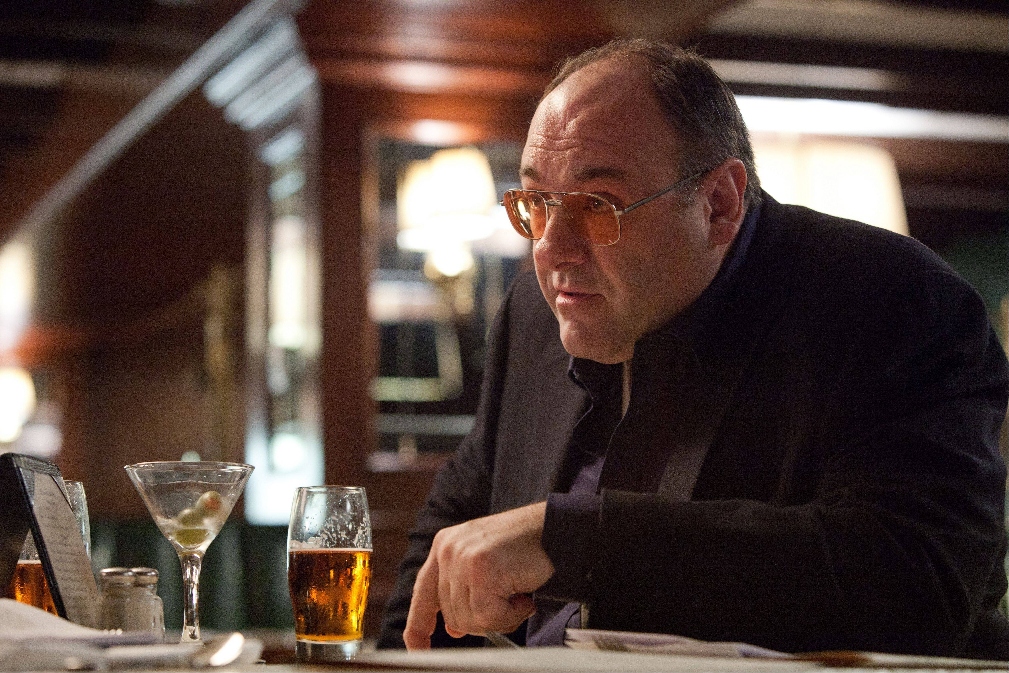 "James Gandolfini played an older, end-of-the-line gangster in ""Killing Them Softly,"" which is a rare return to the territory Gandolfini has avoided."