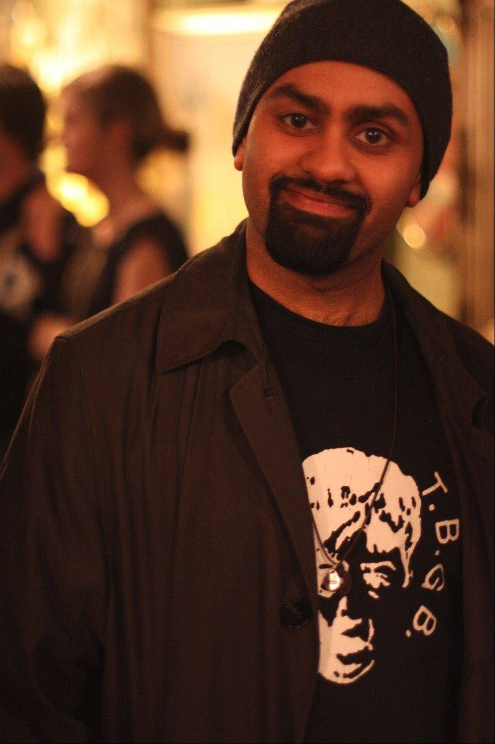Bilal Dardai, who grew up in Downers Grove, was recently named co-artistic director, with Megan Mercier, of The Neo-Futurists.