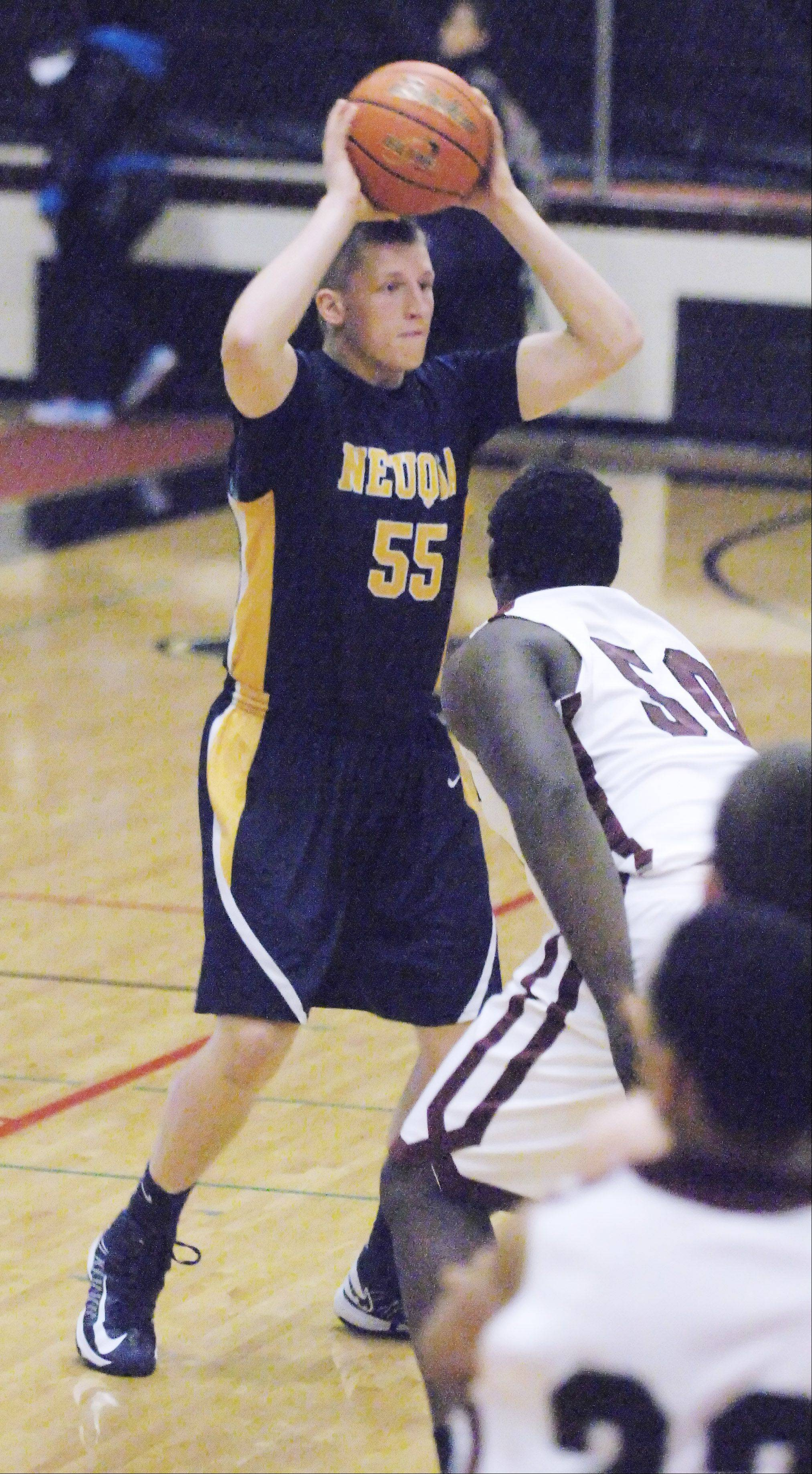 Images from the Neuqua Valley vs. Peoria Central boys basketball game in Aurora on Friday, Dec. 28, 2012.