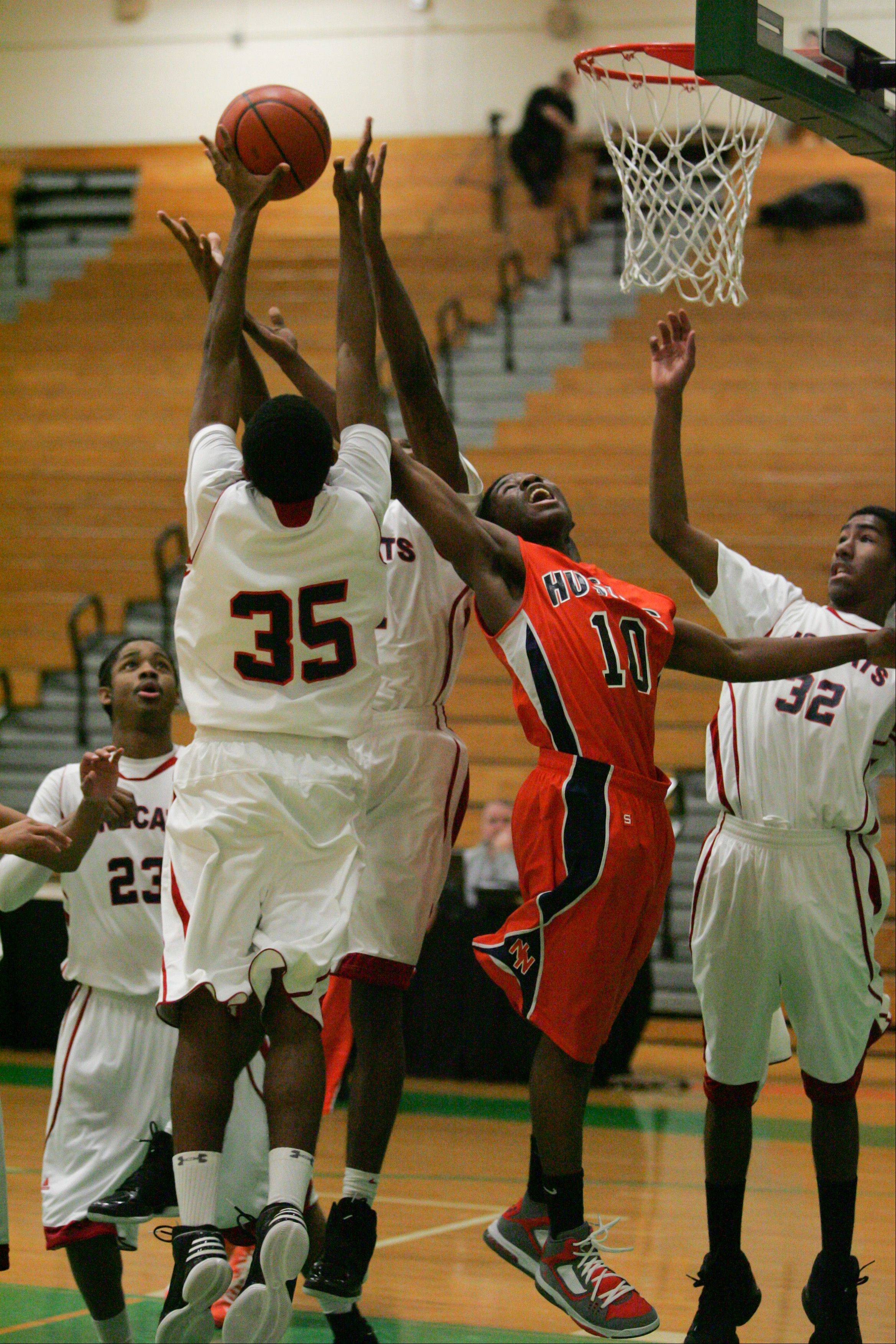 Images from the Naperville North vs. UIC College Prep boys basketball game in Elmhurst on Friday, Dec. 28, 2012.