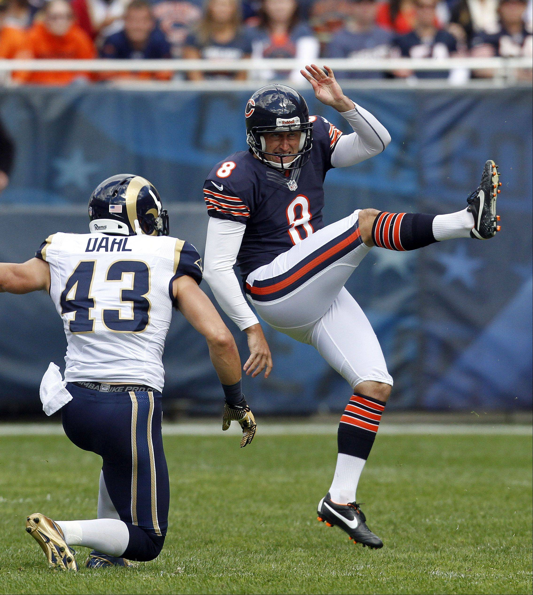Bears' Podlesh gives problems the boot