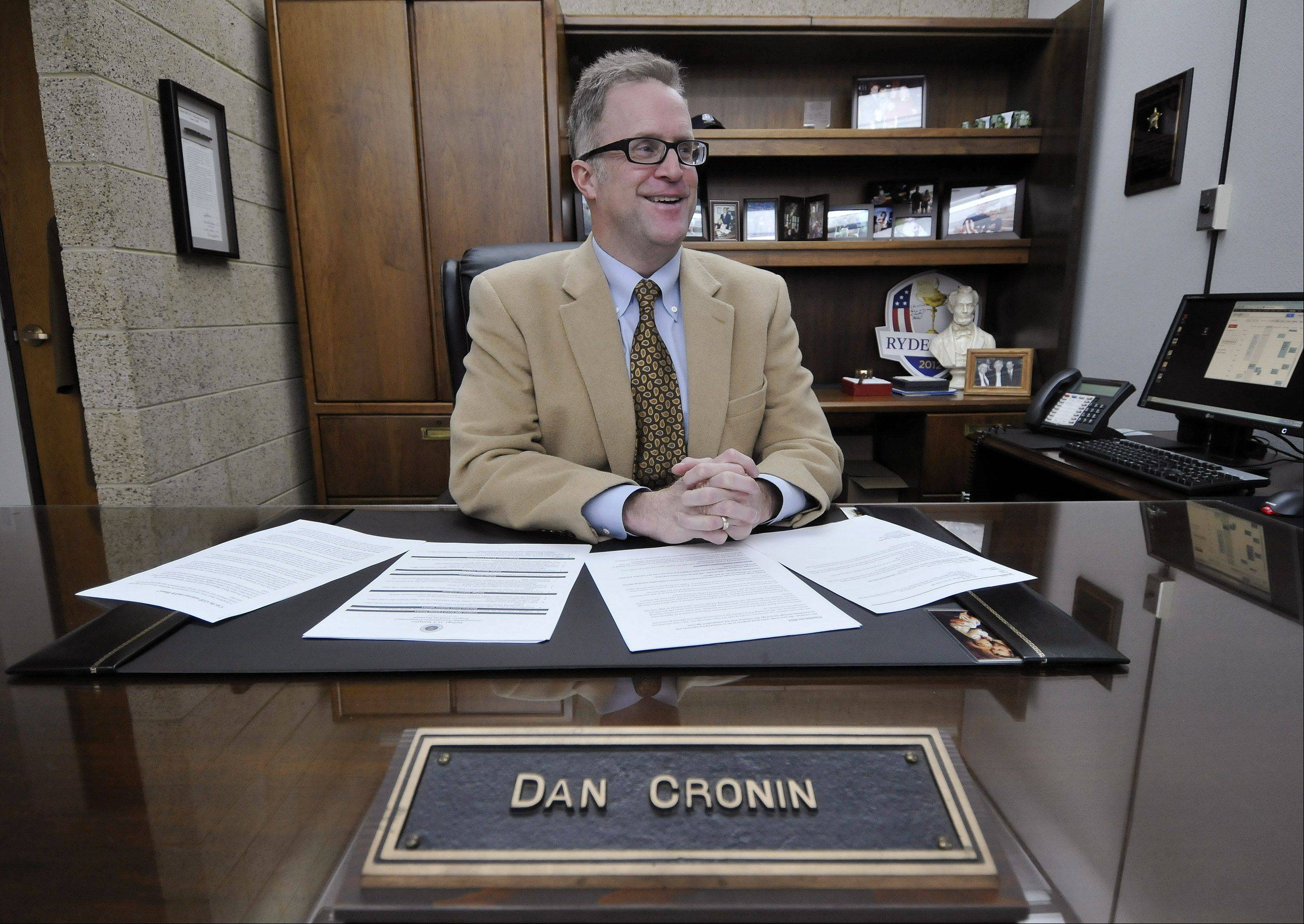 DuPage County Board Chairman Dan Cronin discusses his vision for the coming year.
