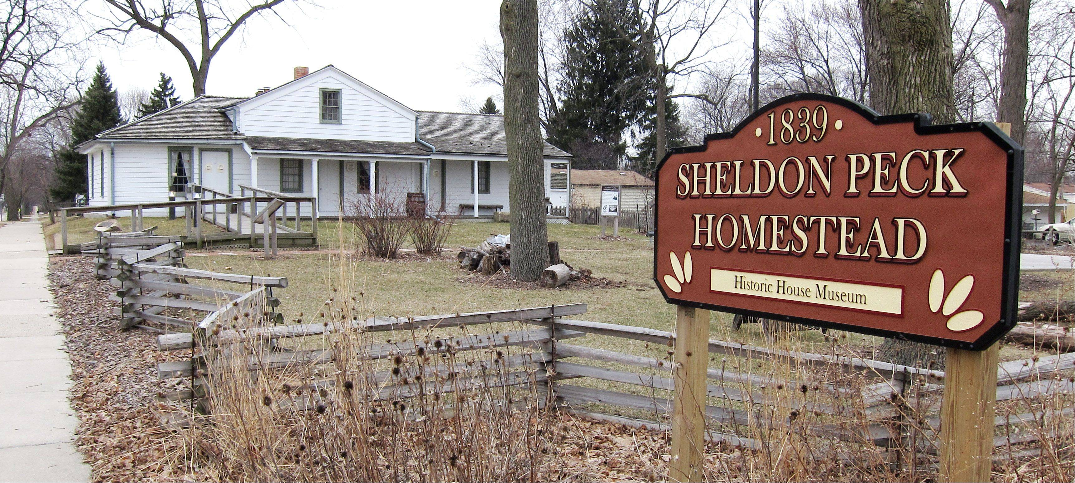 The Sheldon Peck Homestead at 355 E. Parkside Ave. in Lombard is listed on the National Park Service's Network to Freedom, a list of verified Underground Railroad sites. The Lombard Historical Society will mark the 150th anniversary of the Emancipation Proclamation at the homestead from 1 to 3 p.m. Tuesday, Jan. 1.