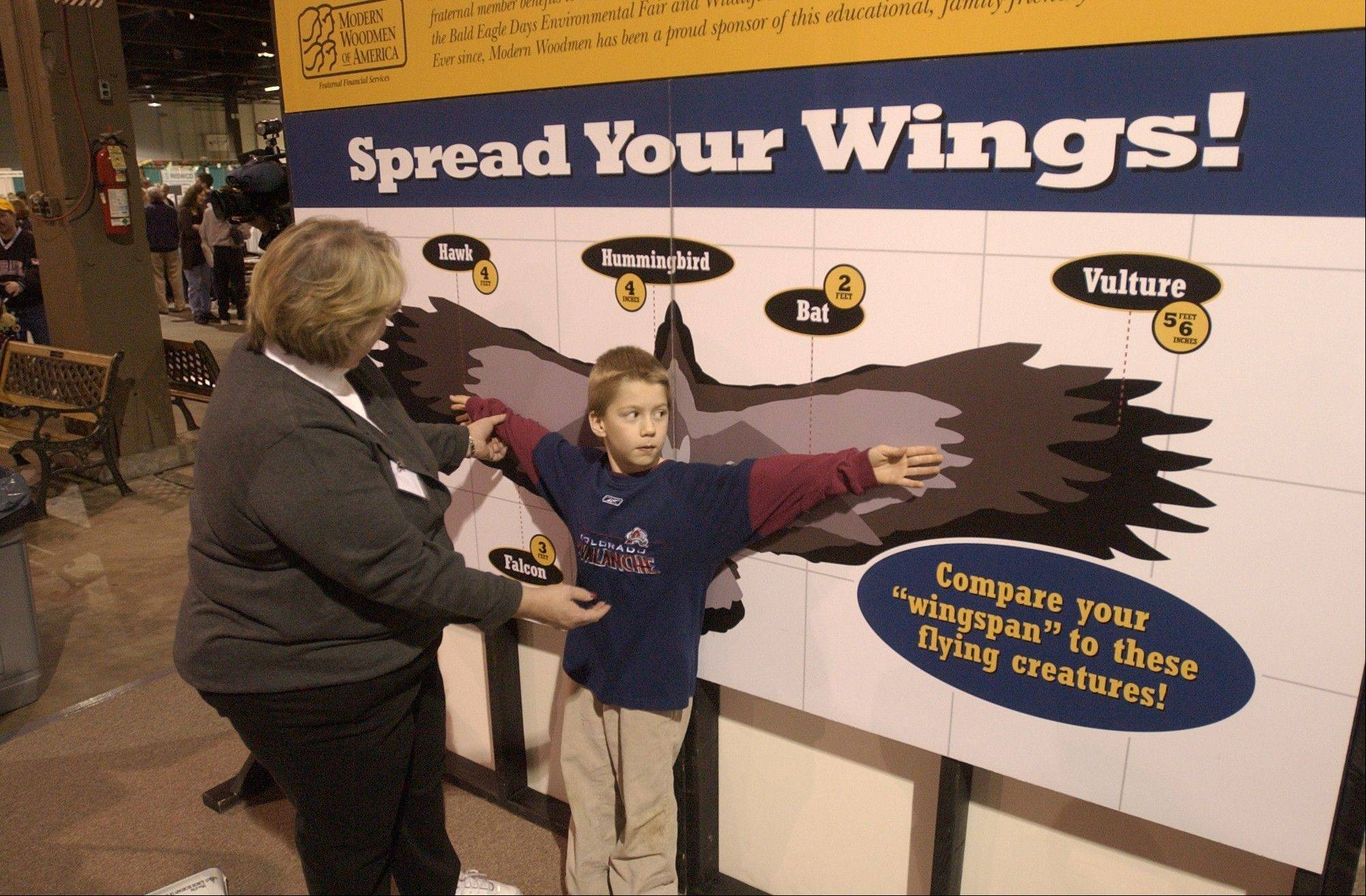 Families can learn a lot about birds of prey during Bald Eagle Days at the Quad Cities Expo Center, Jan. 11-13.