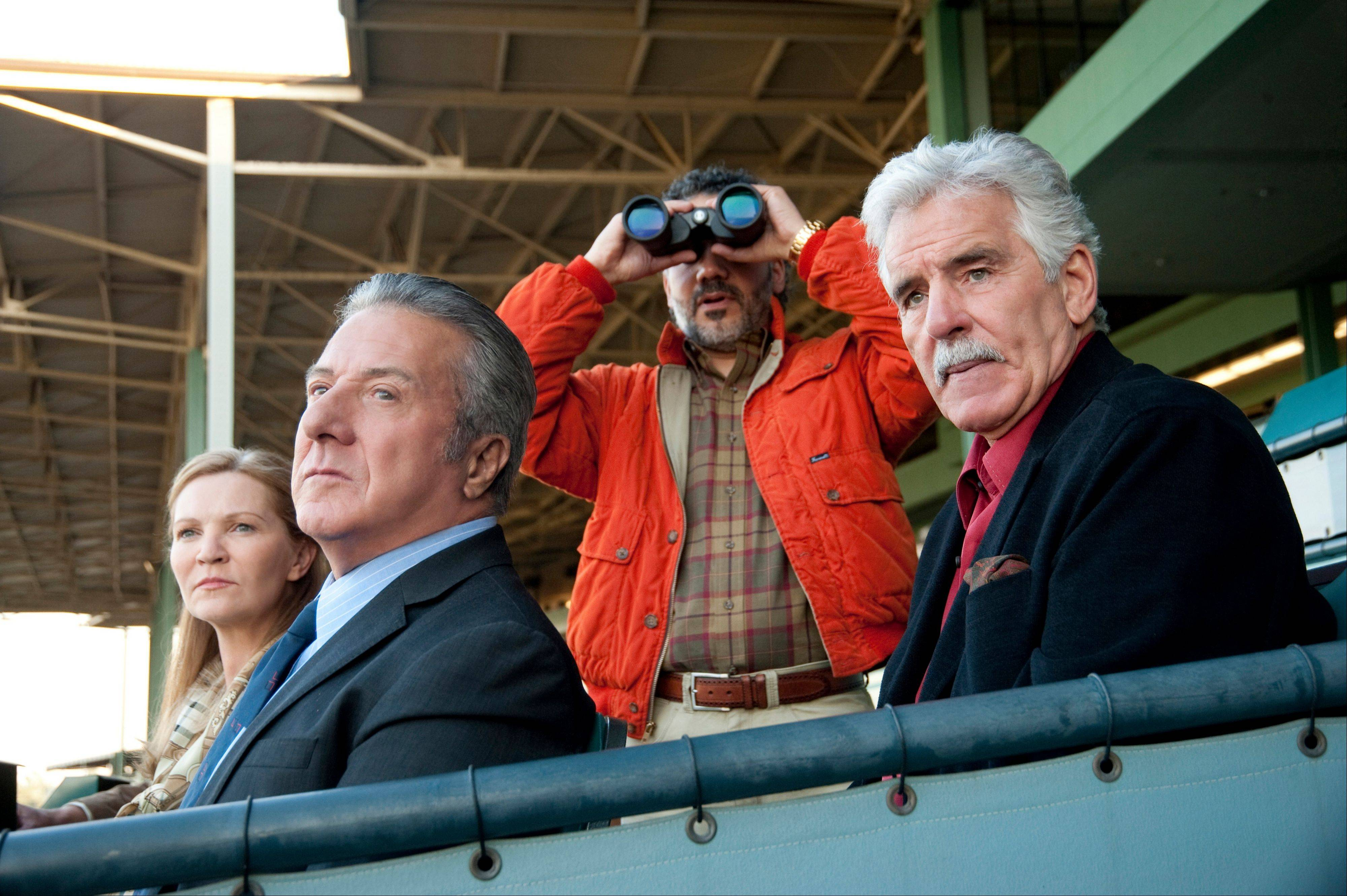"""Luck"" proved unlucky indeed. The drama boasted an incredible cast -- including Joan Allen, Dustin Hoffman, John Ortiz and Dennis Farina. But HBO canceled the horse racing series after a third horse died during production."
