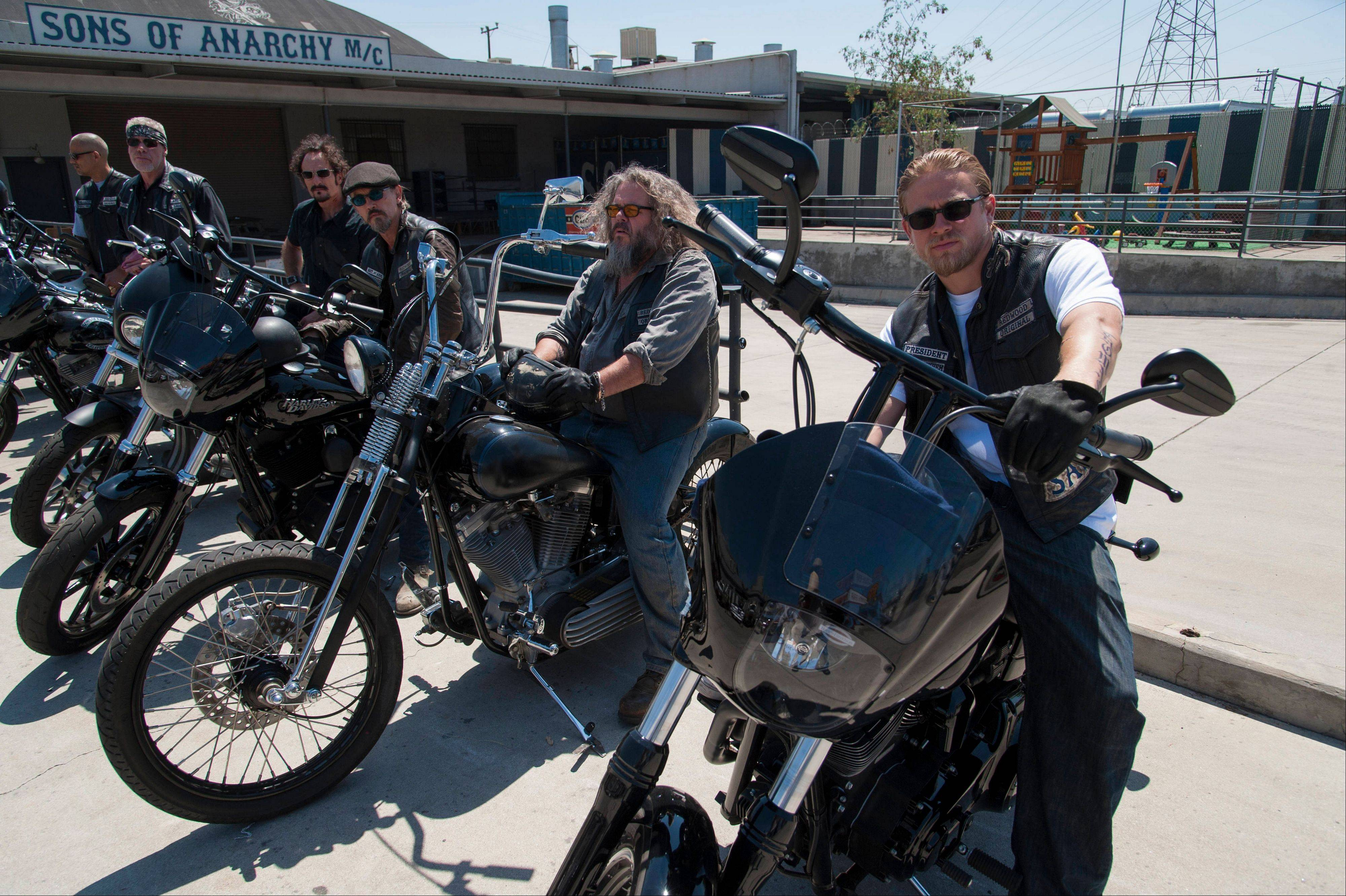 "FX's ""Sons of Anarchy"" was wilder than ever this year."
